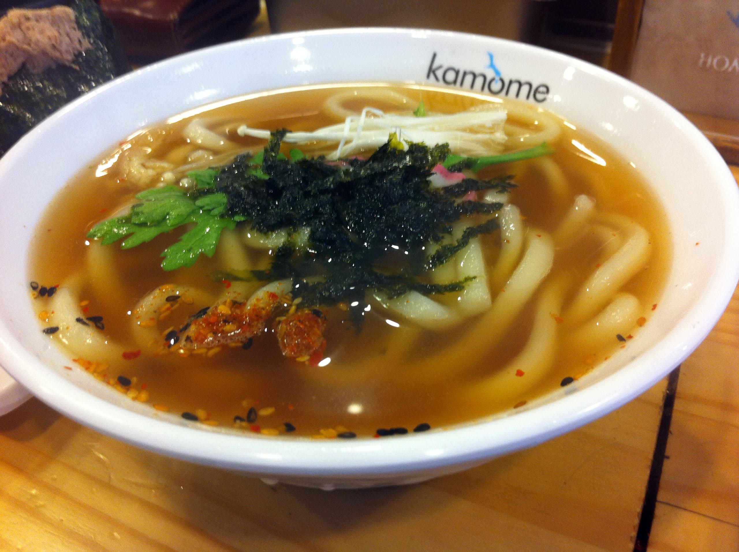카모메 우동
