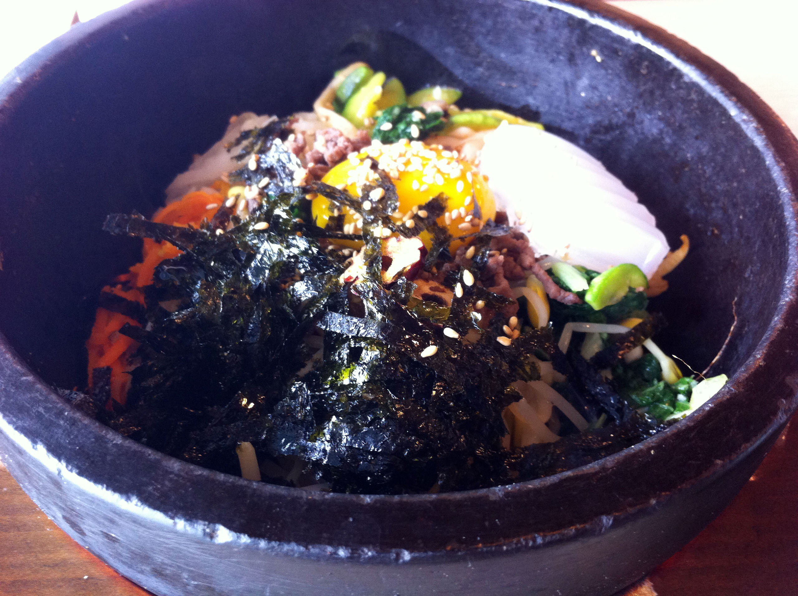 돌솥 비빔밥