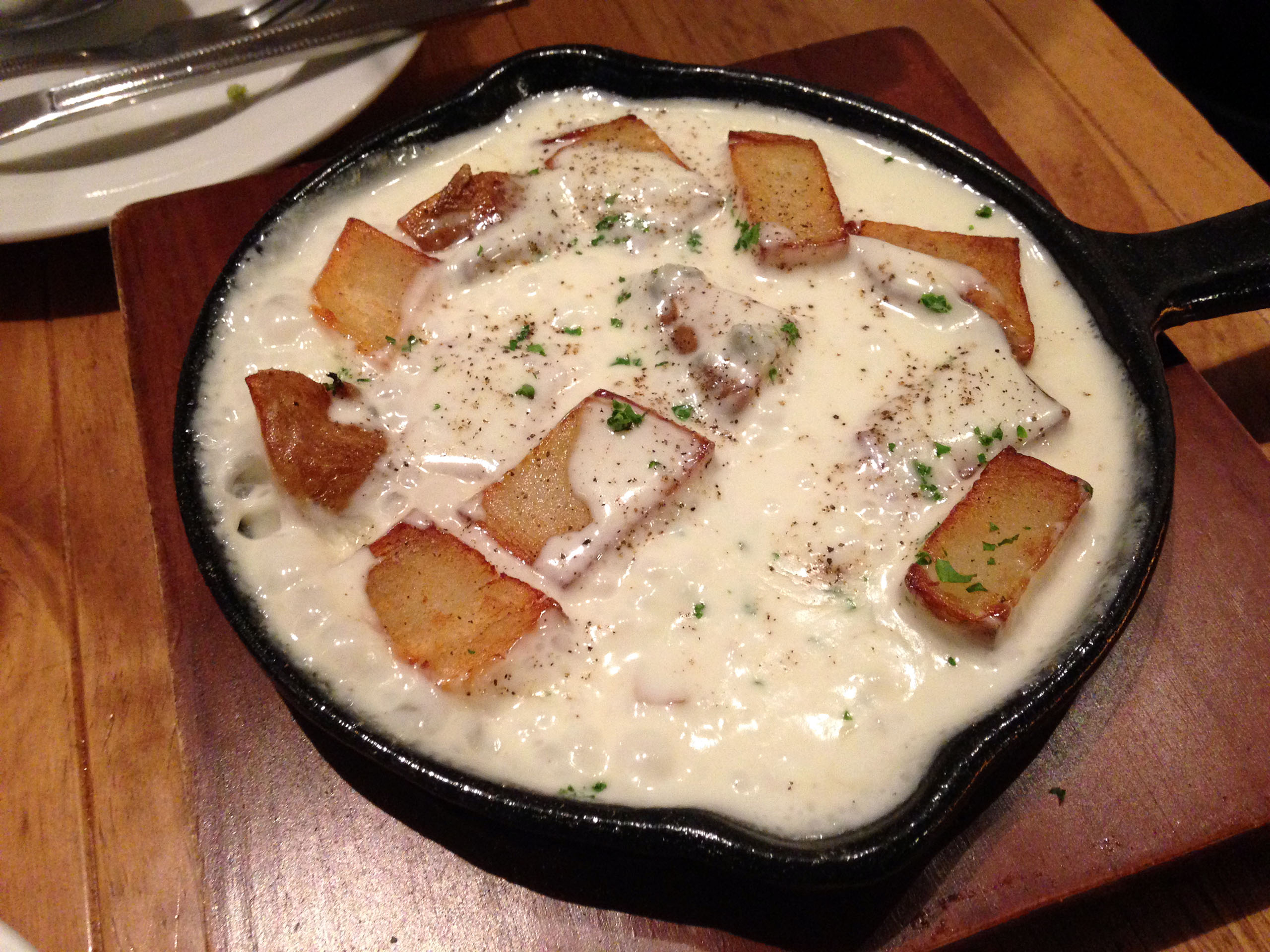 감자와 고르곤졸라 치즈 그라탕
