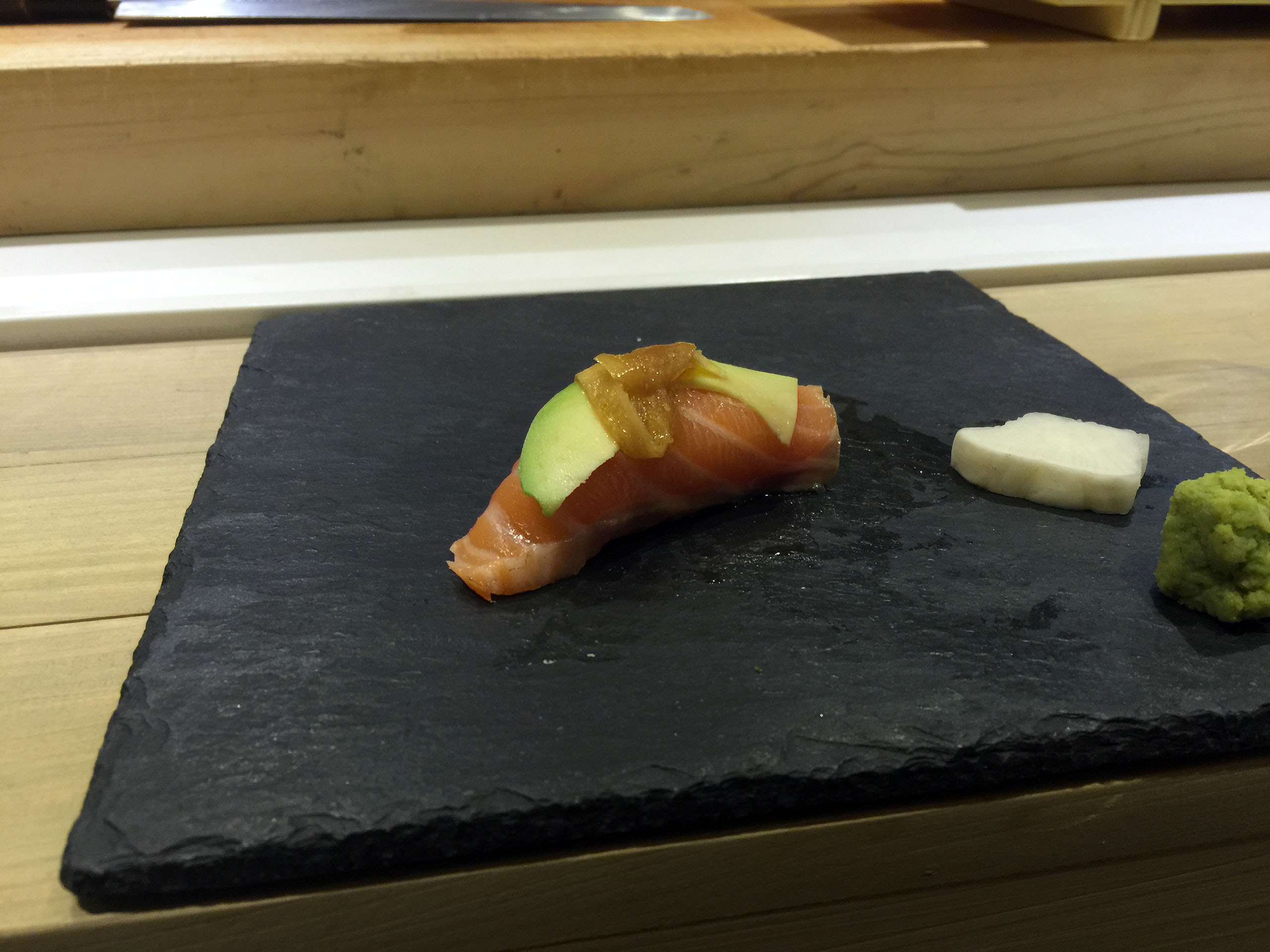 사케 아보카도