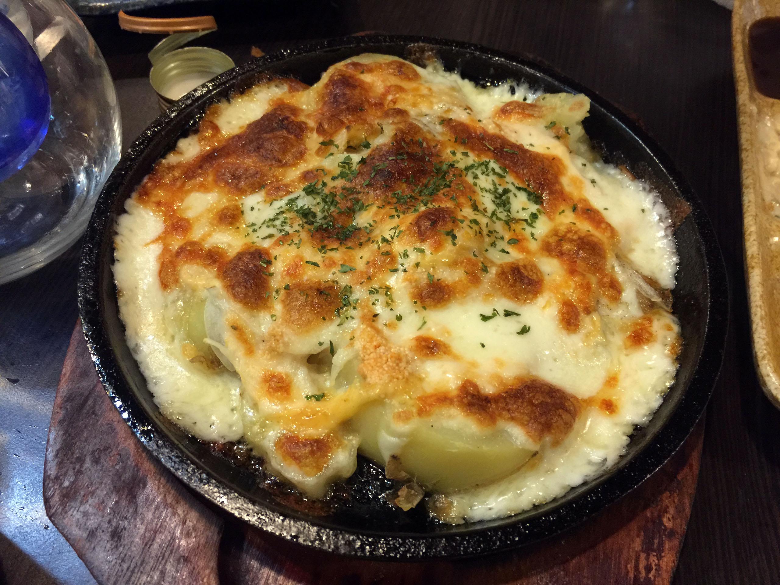 명란 감자 치즈