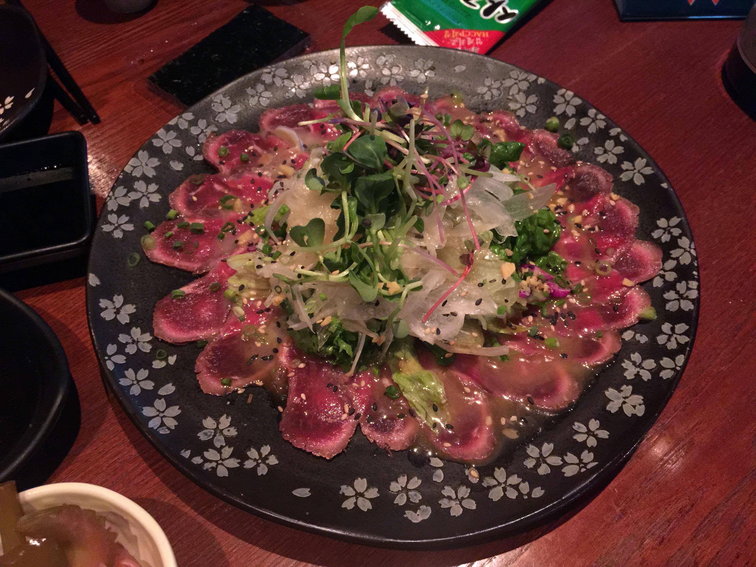 쇠고기 타타키