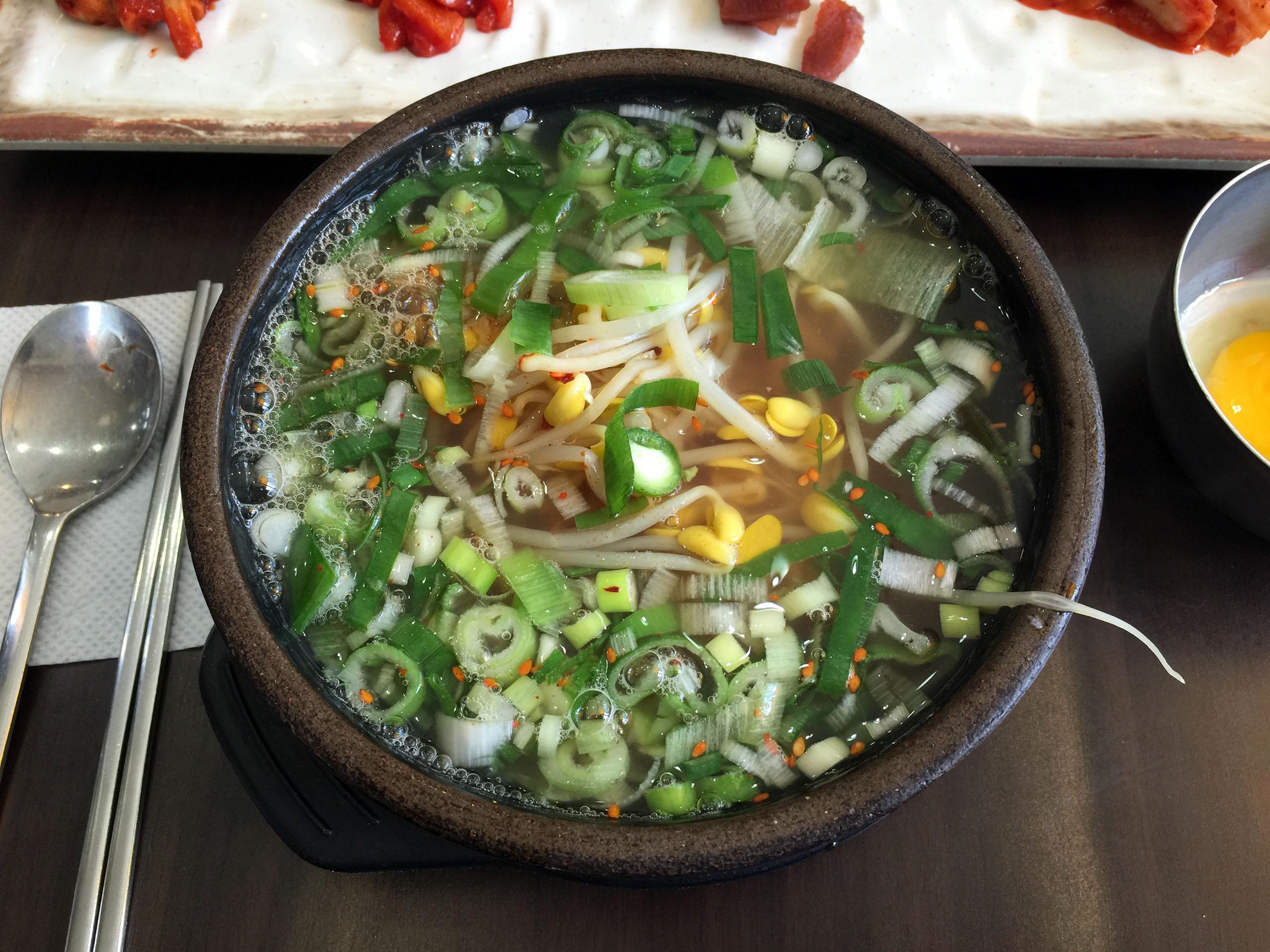 전주남부시장식 콩나물국밥