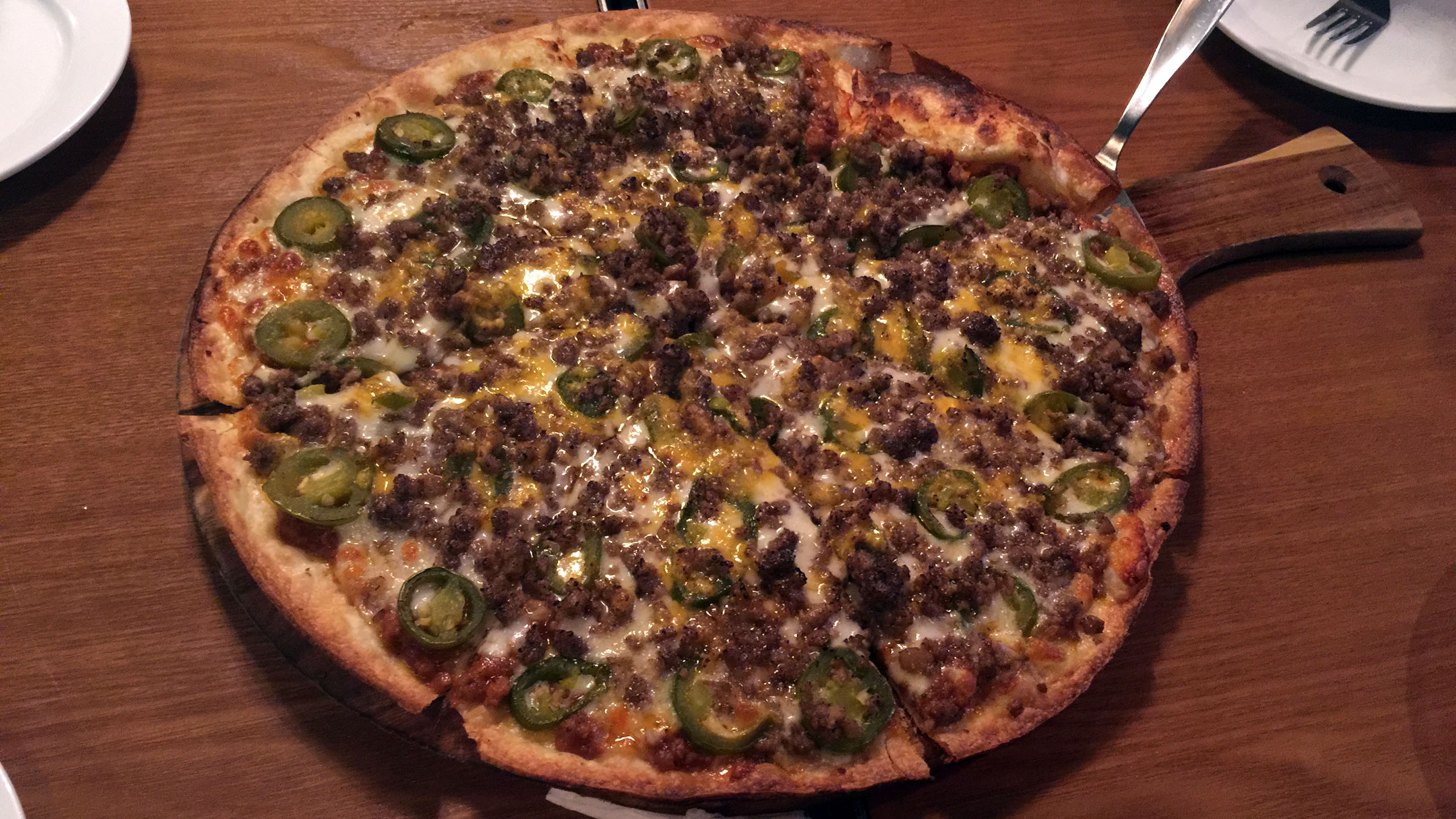 할라피뇨 피자