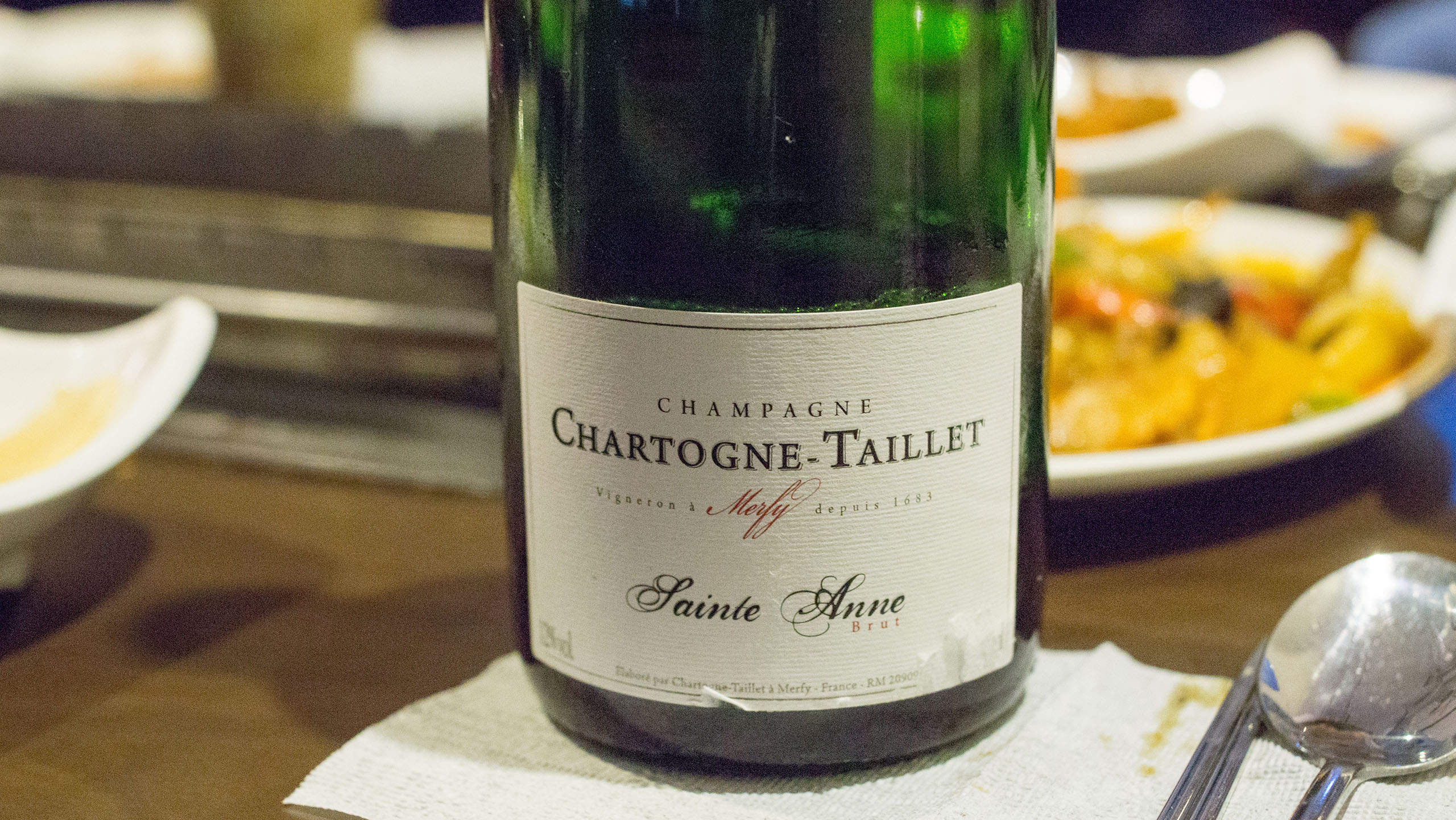 Champagne Chartogne Taillet St. Anne