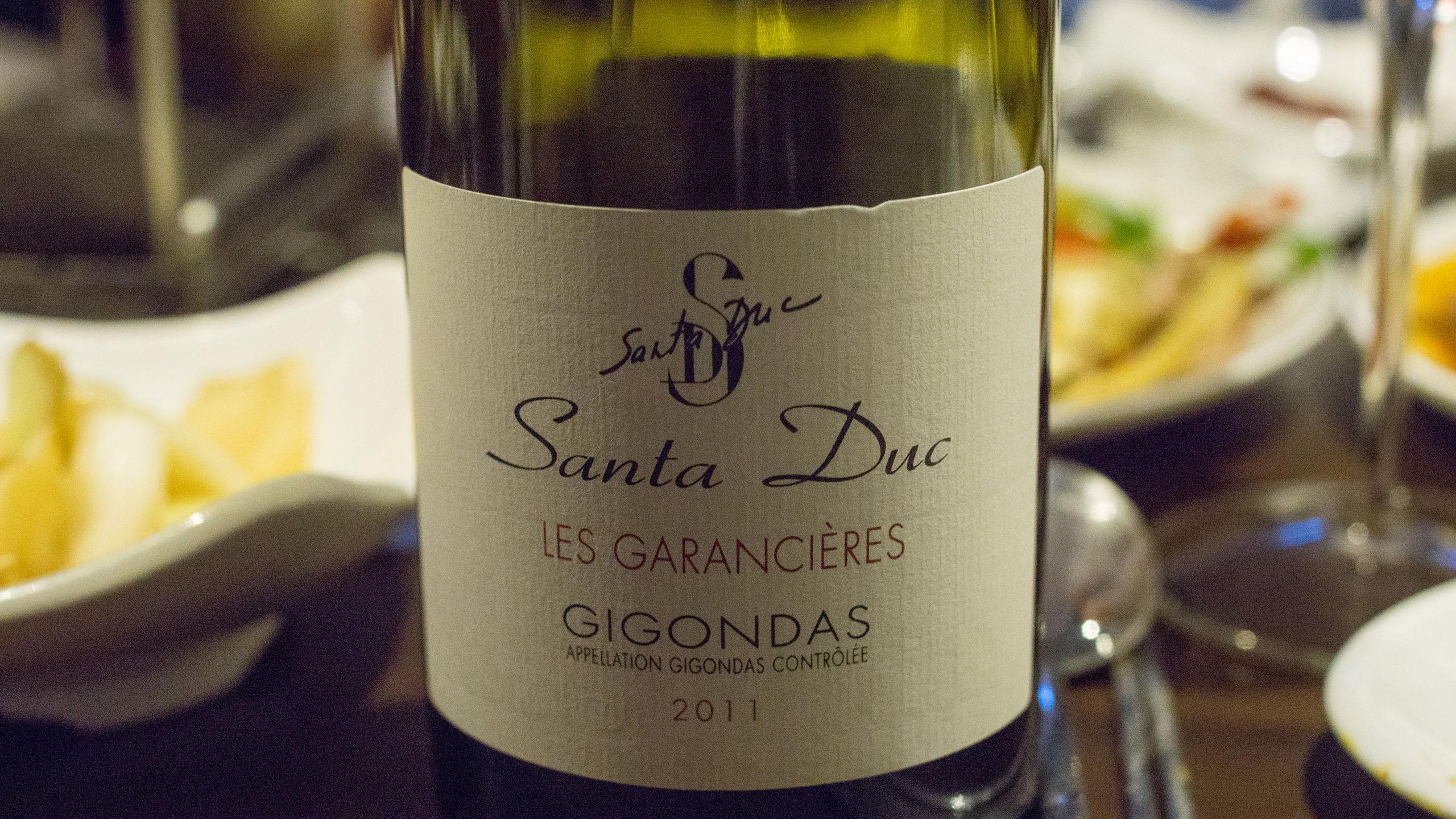 Domaine Santa Duc Gigondas 2012