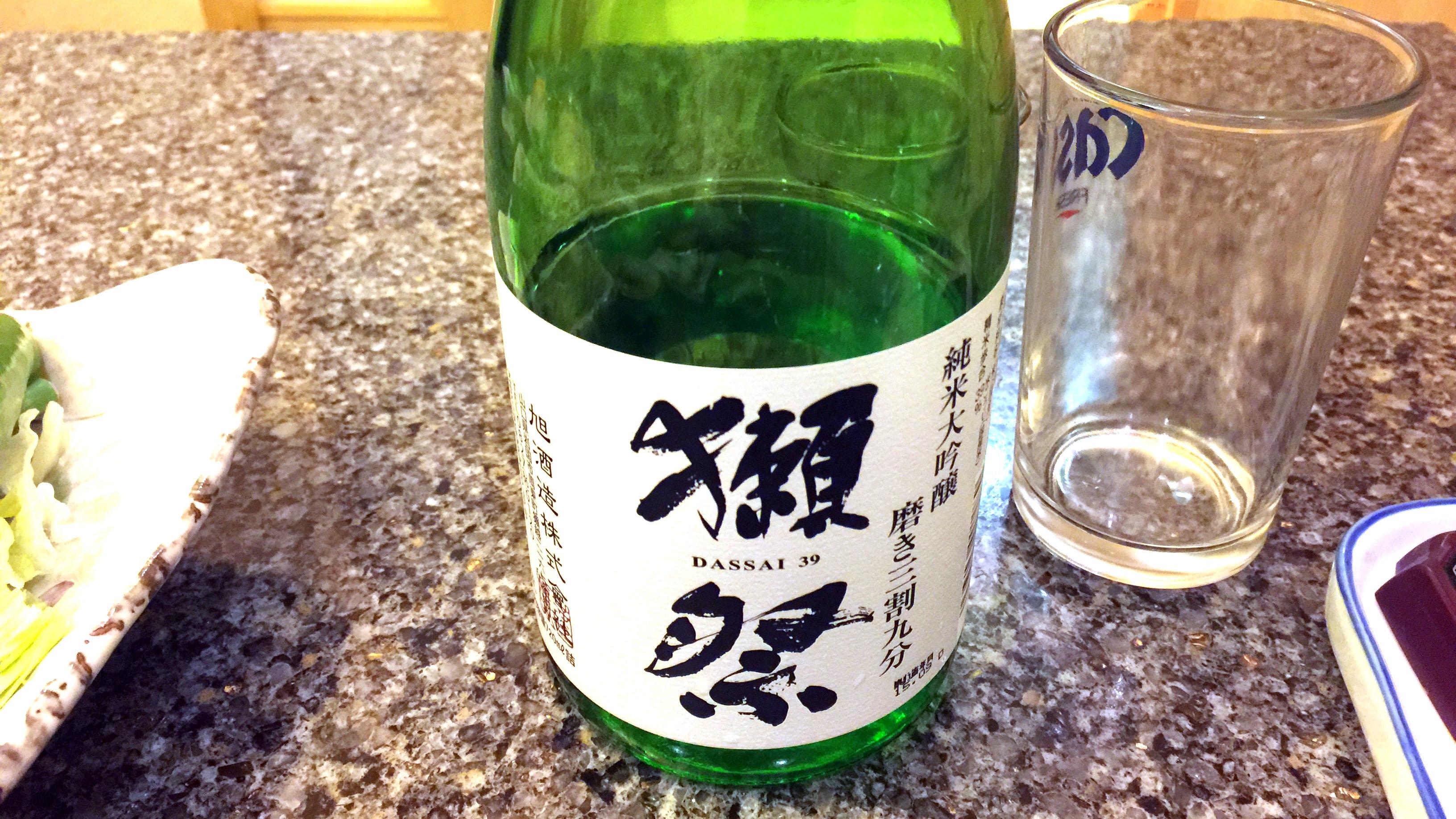 닷사이 쥰마이다이긴죠 미가키 산와리큐부 히이레