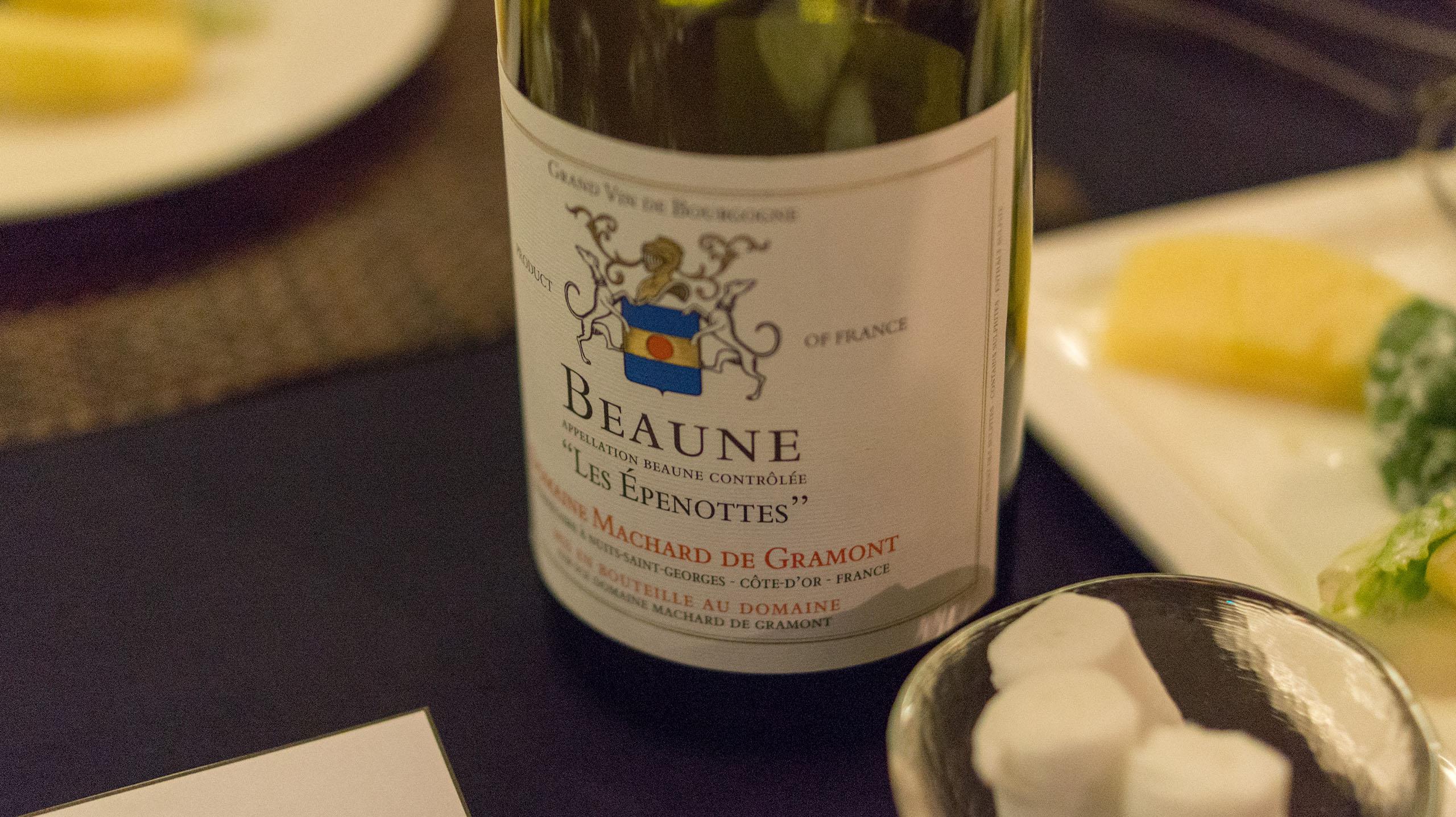 Domaine Machard de Gramont, Beaune Les Epenottes 2001