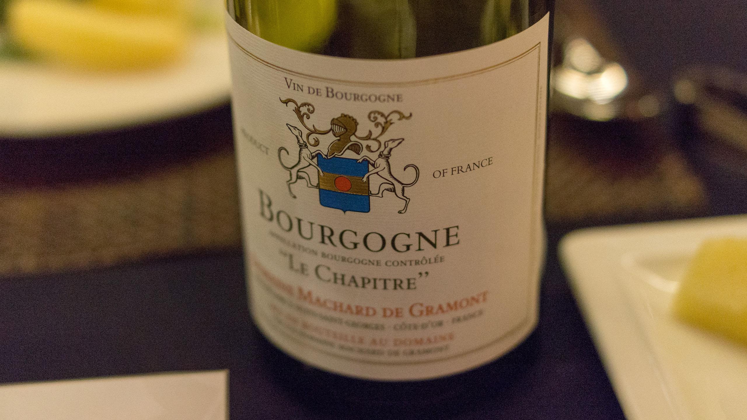 Domaine Machard De Gramont, Bourgogne 'La Chapitre' 2006