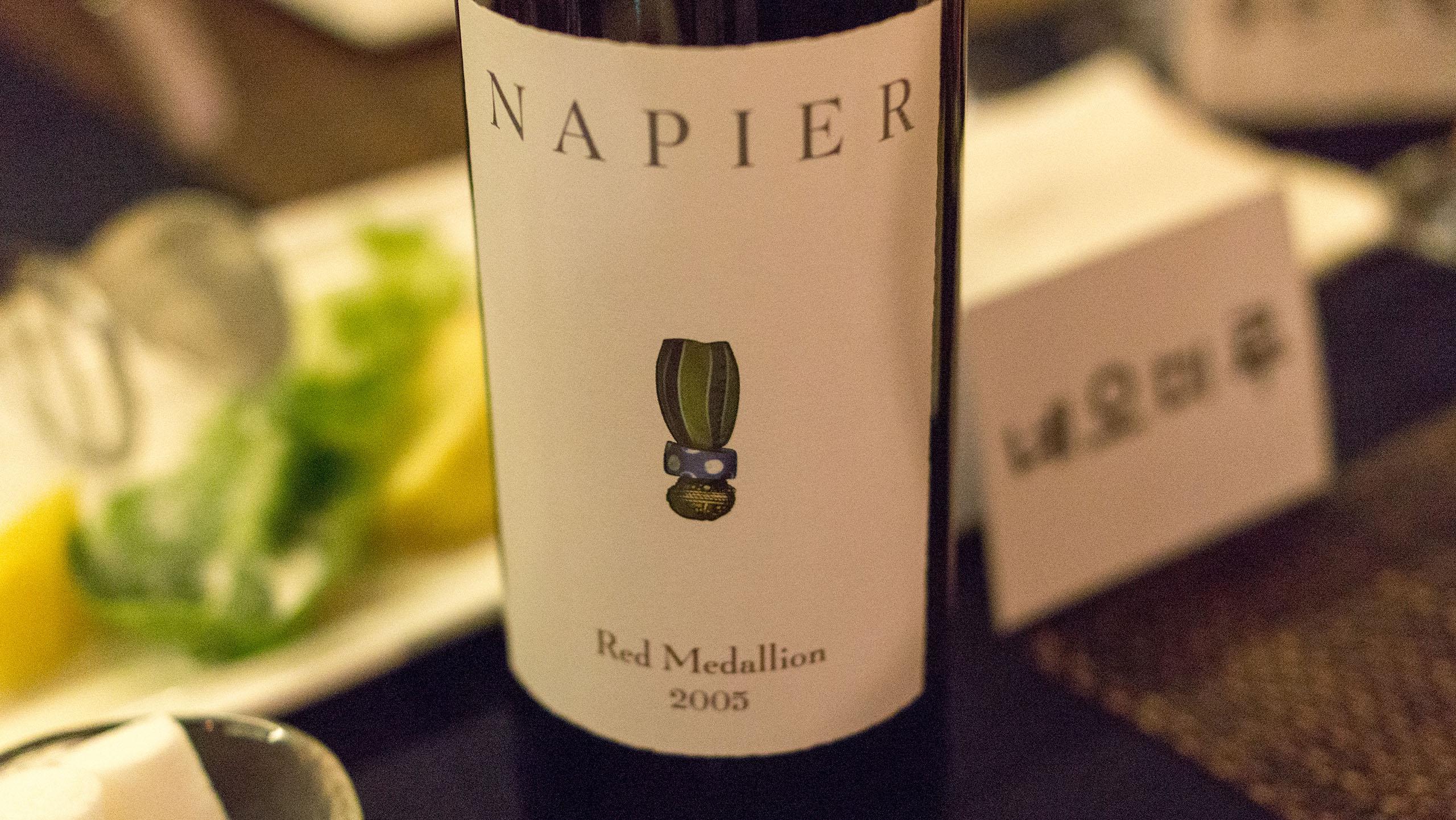 Napier Red Medallion 2005