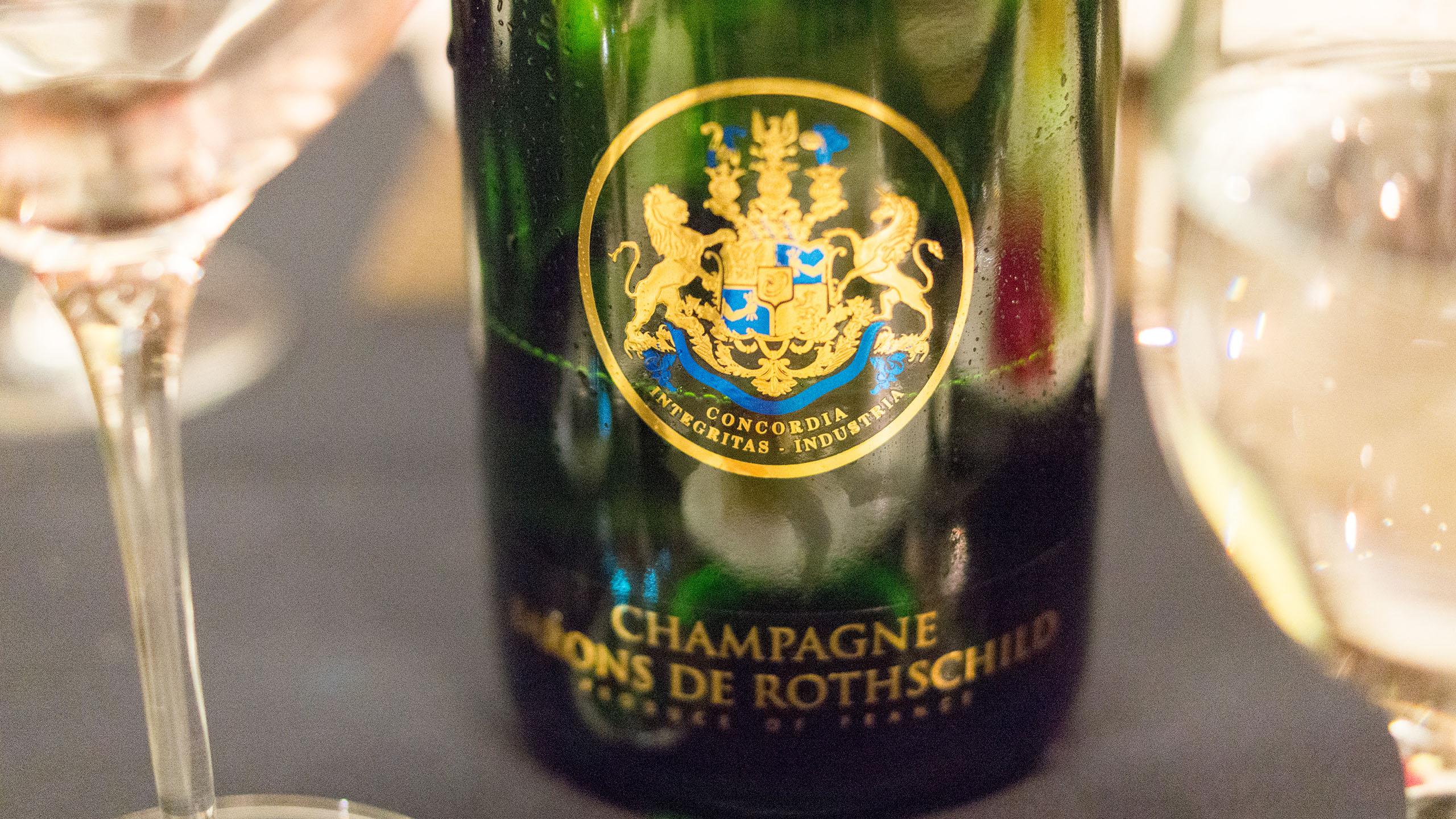 Champagne de Rothschild Blanc de Blanc NV