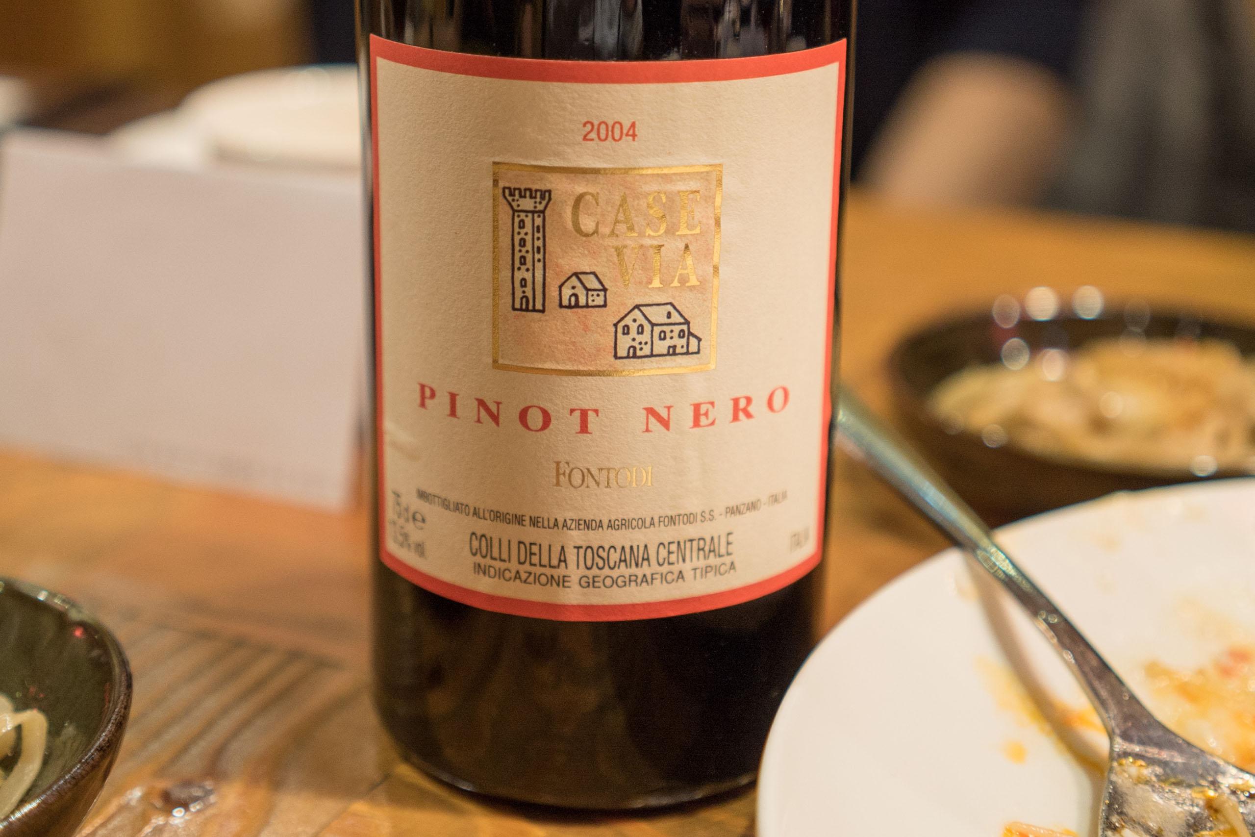 Fontodi Case Via Pinot Nero 2004
