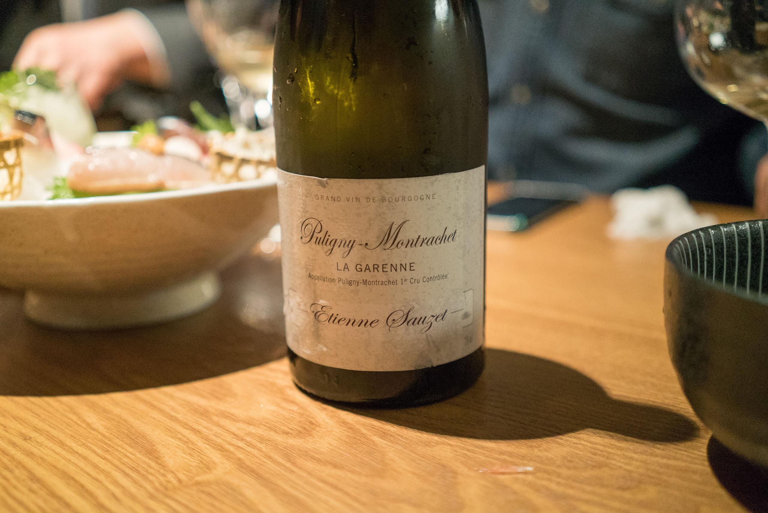 Domaine Etienne Sauzet Puligny Montrachet Les Referts 2012