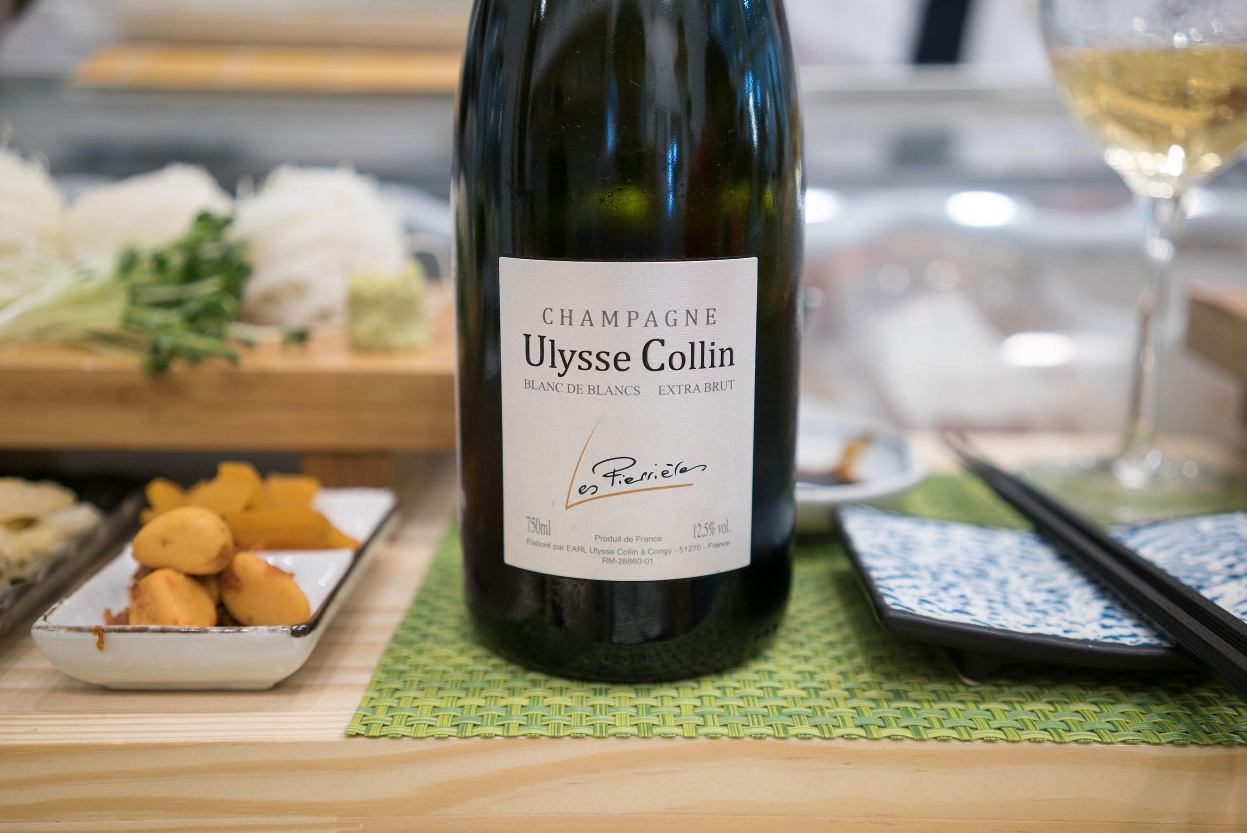 Champagne Ulysse Collin Les Roises Blanc de Blancs Extra Brut