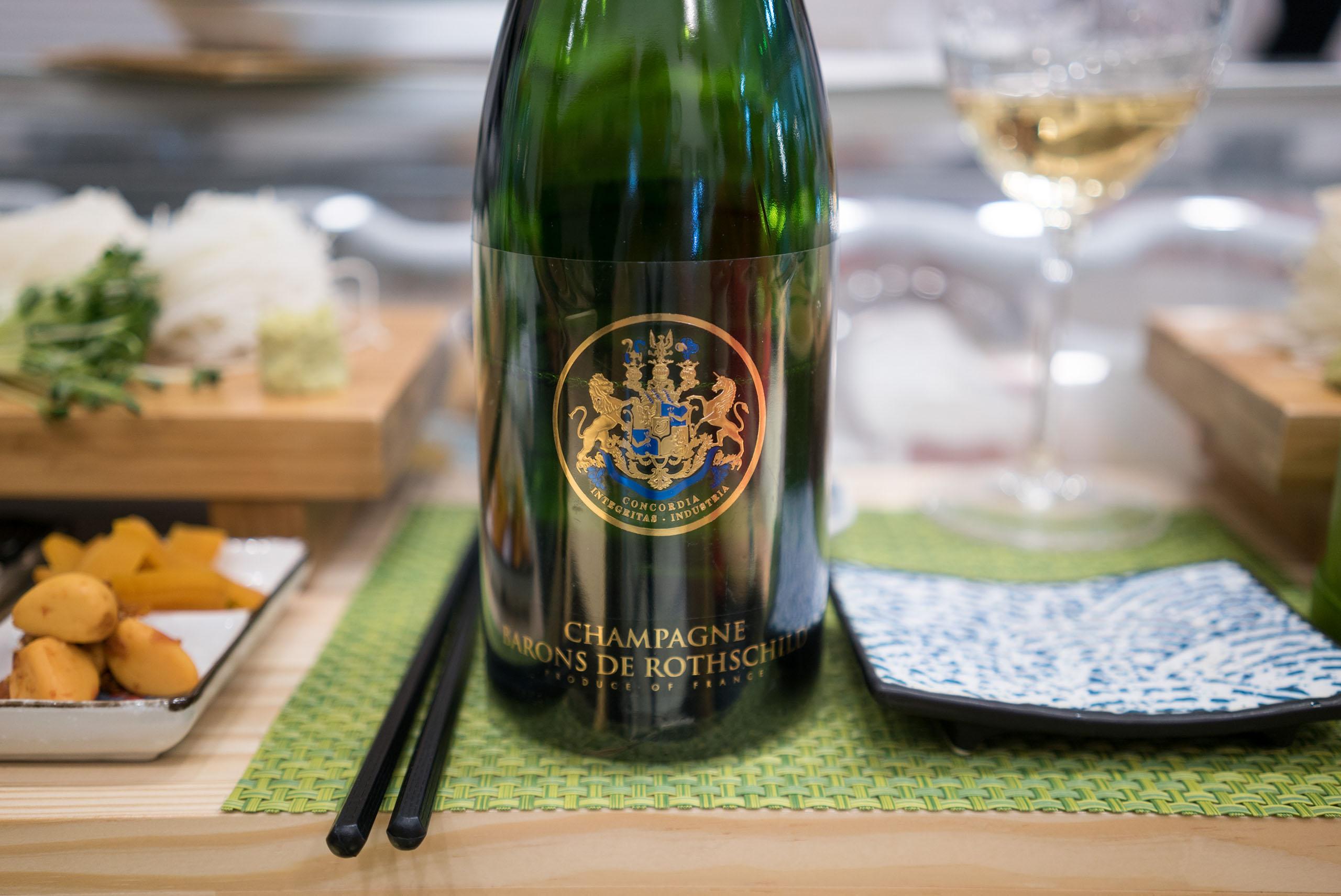 Champagne de Rothschild Blanc de Blanc