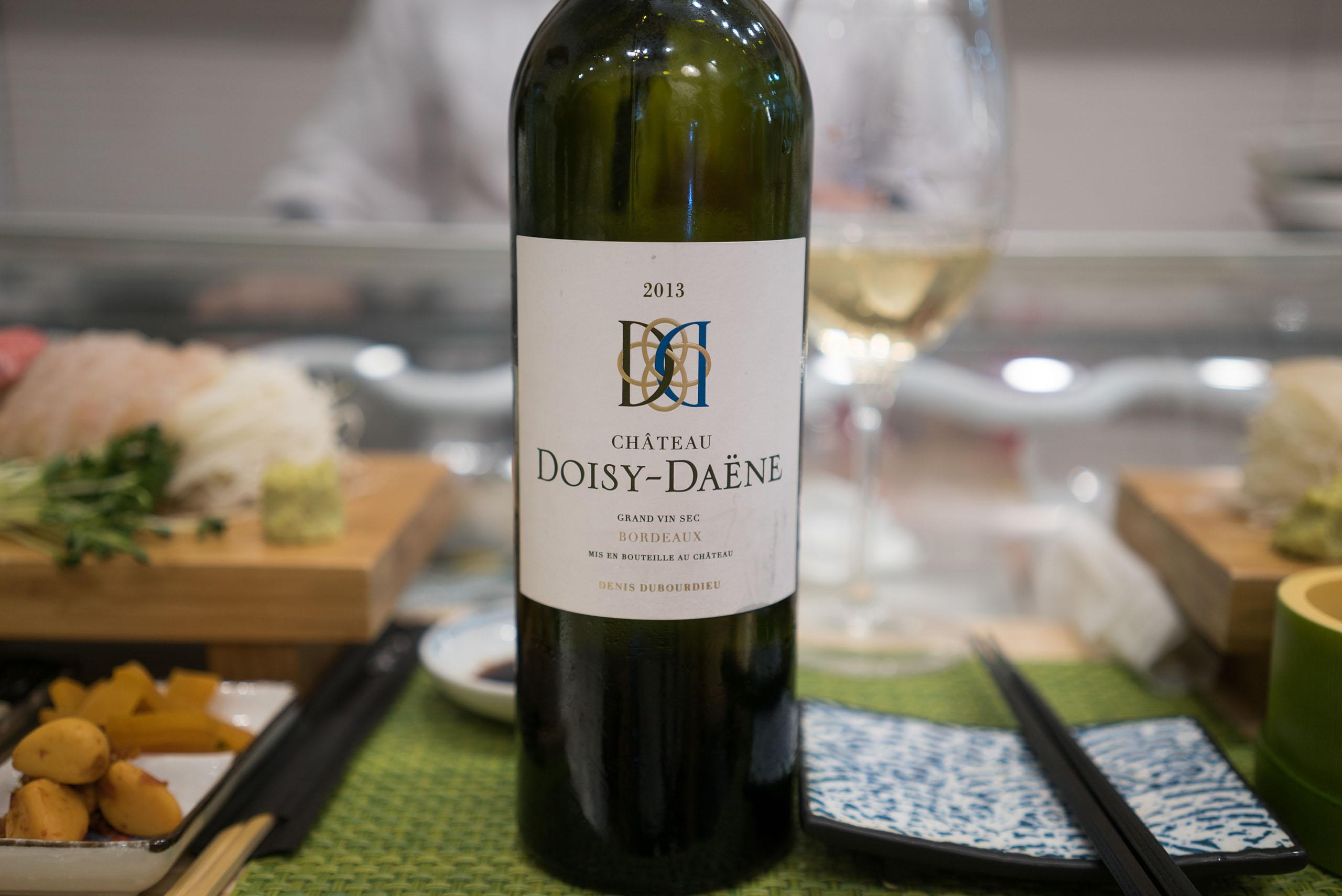 Chateau Doisy-Daene, Grand Vin Sec Bordeaux Denis Dubourdieu 2013