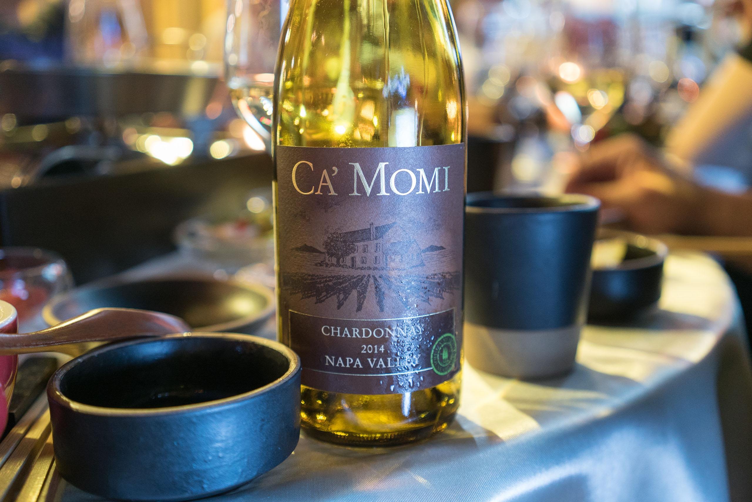 Ca'momi napa valley chardonnay 2014