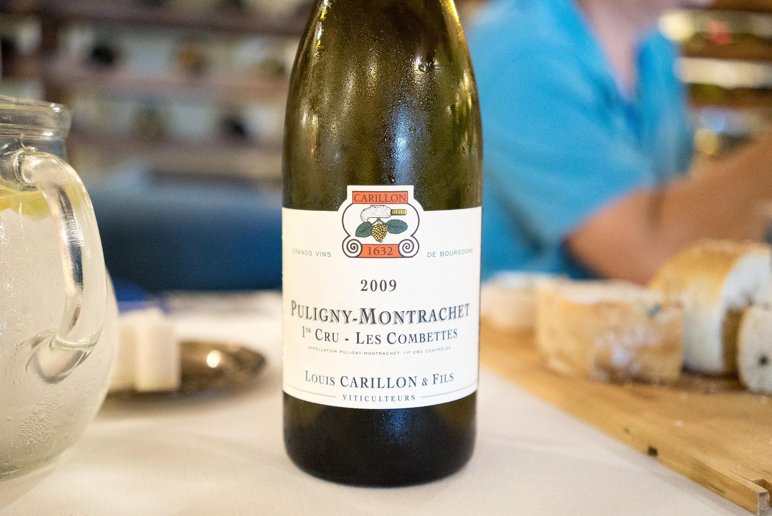 Louis Carillon Puligny-Montrachet 1er CRU Les Combettes 2009