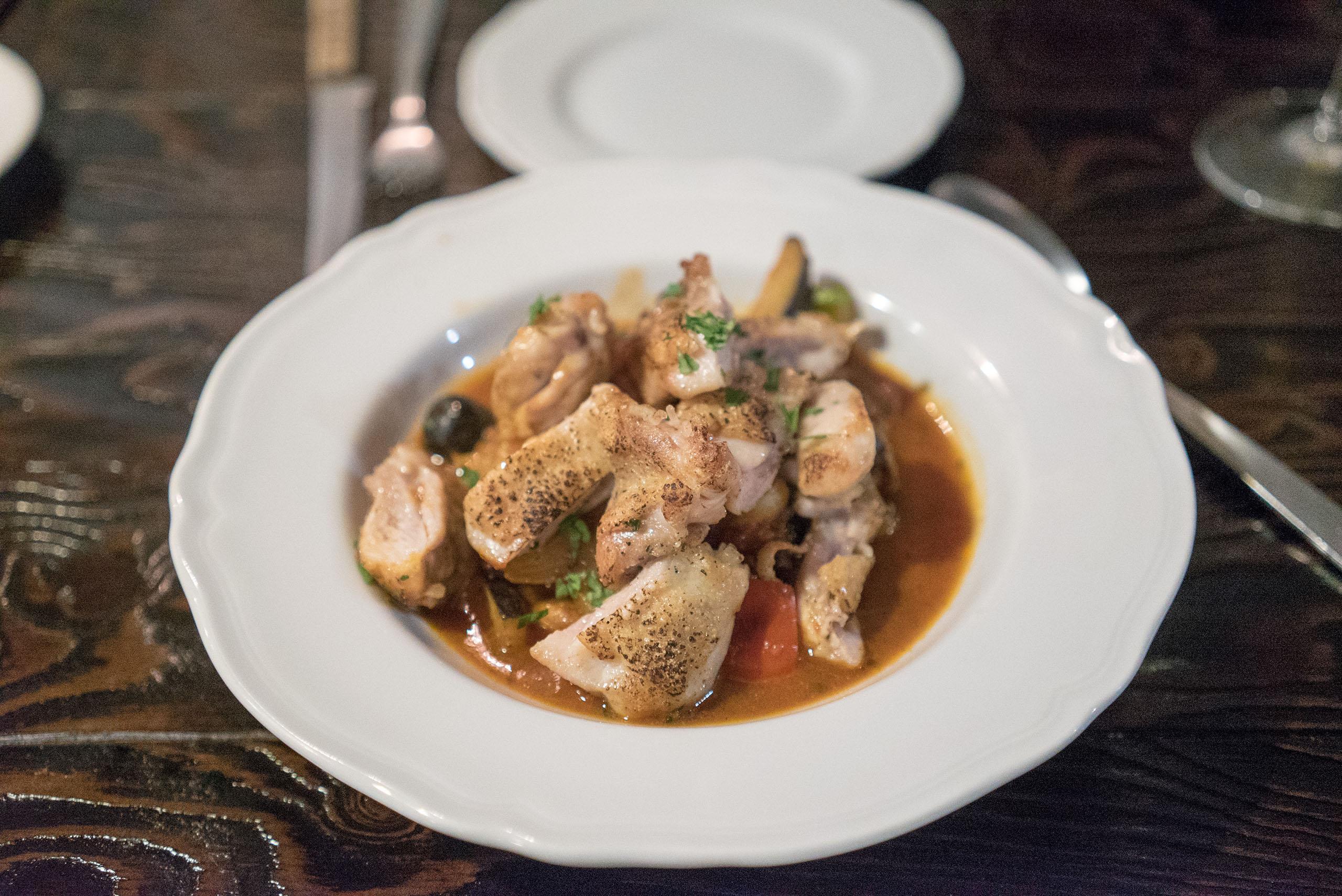 로마풍 닭요리