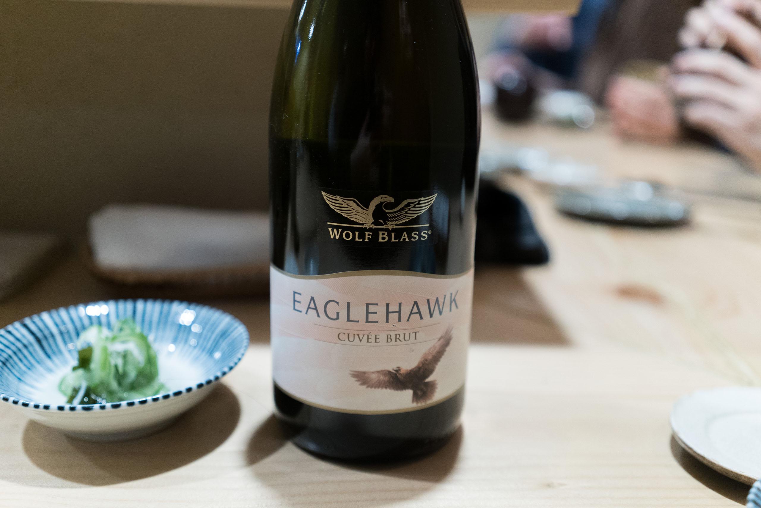 Wolf Blass Eaglehawk Cuvee Brut