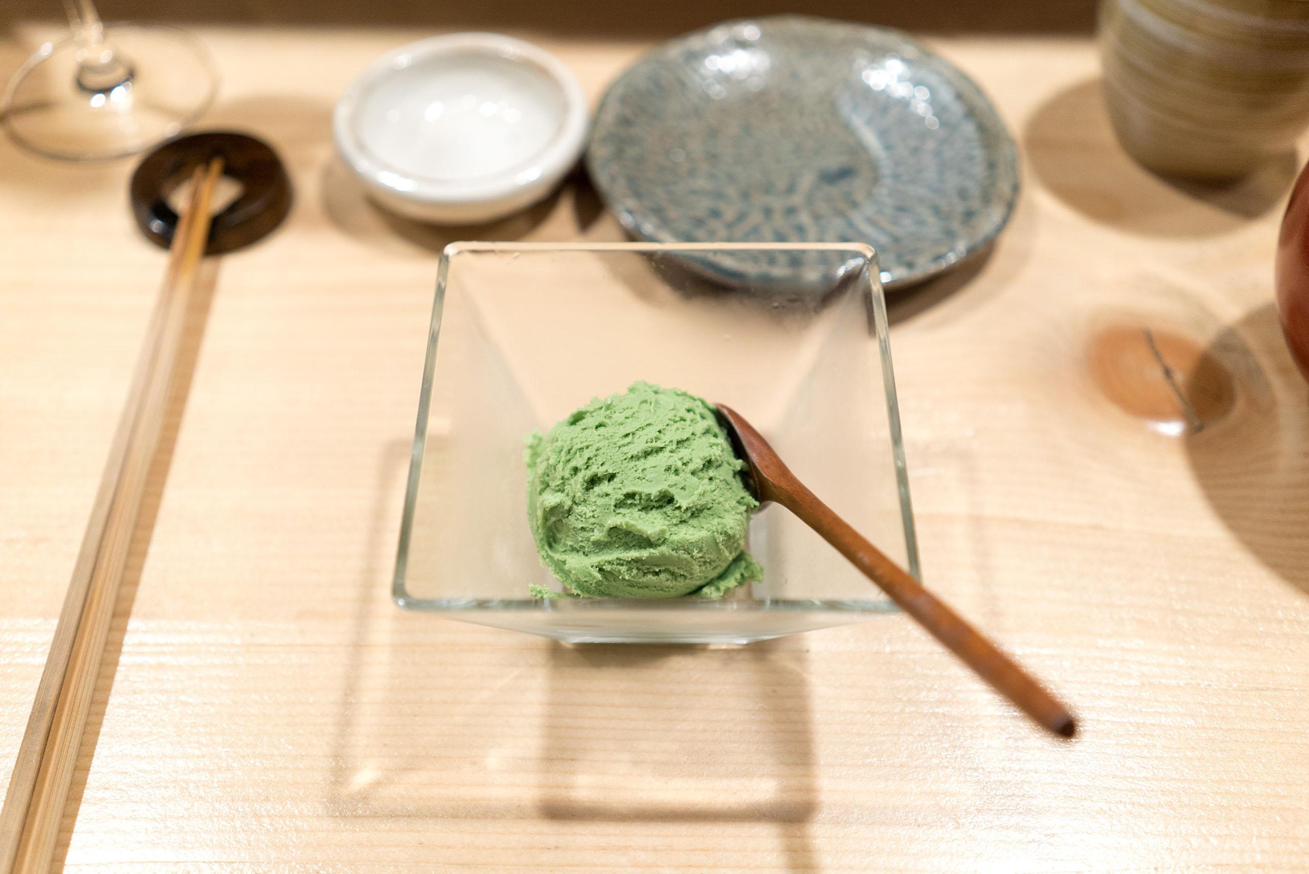 녹차 아이스크림