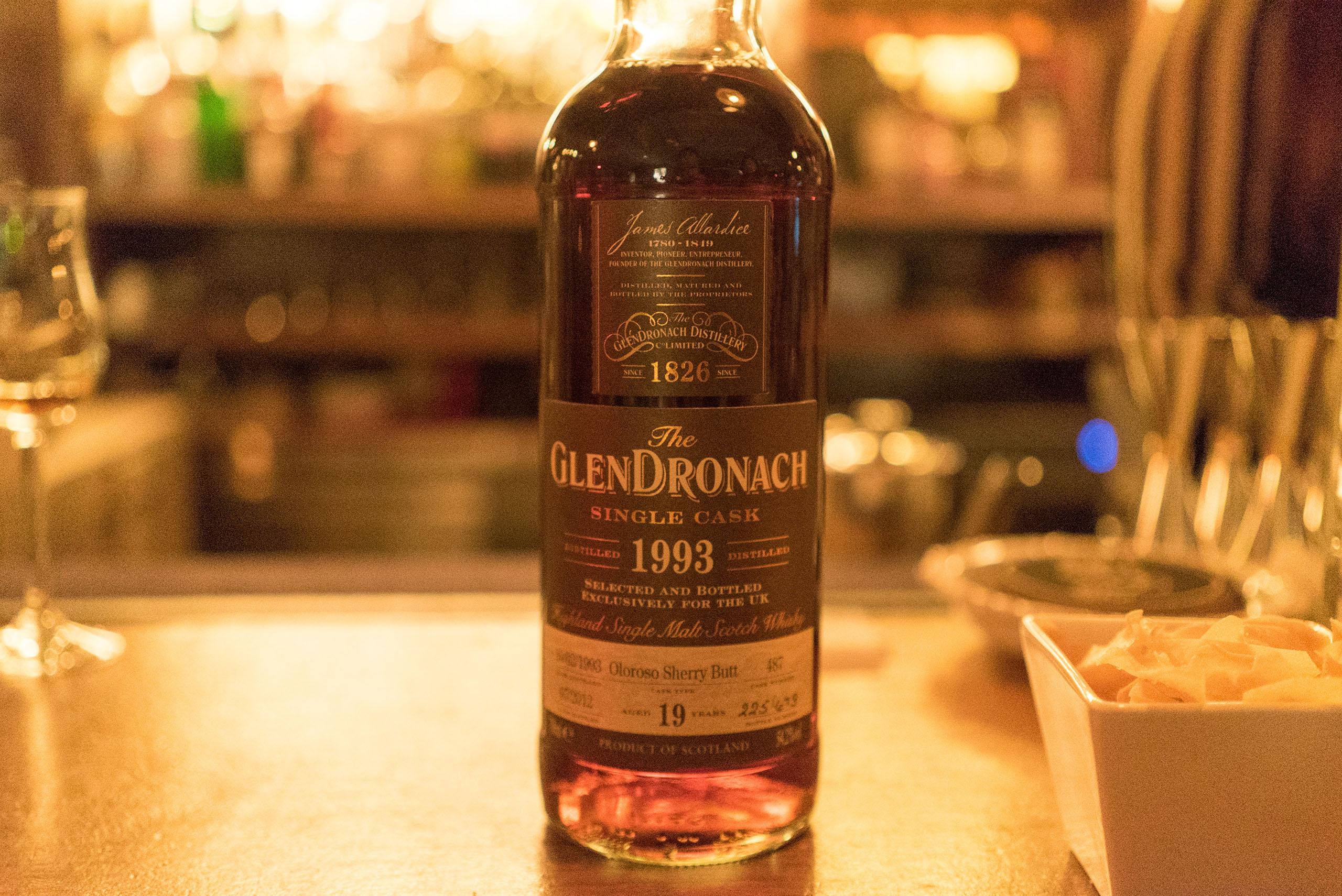 The Glendronach Single Cask 1993