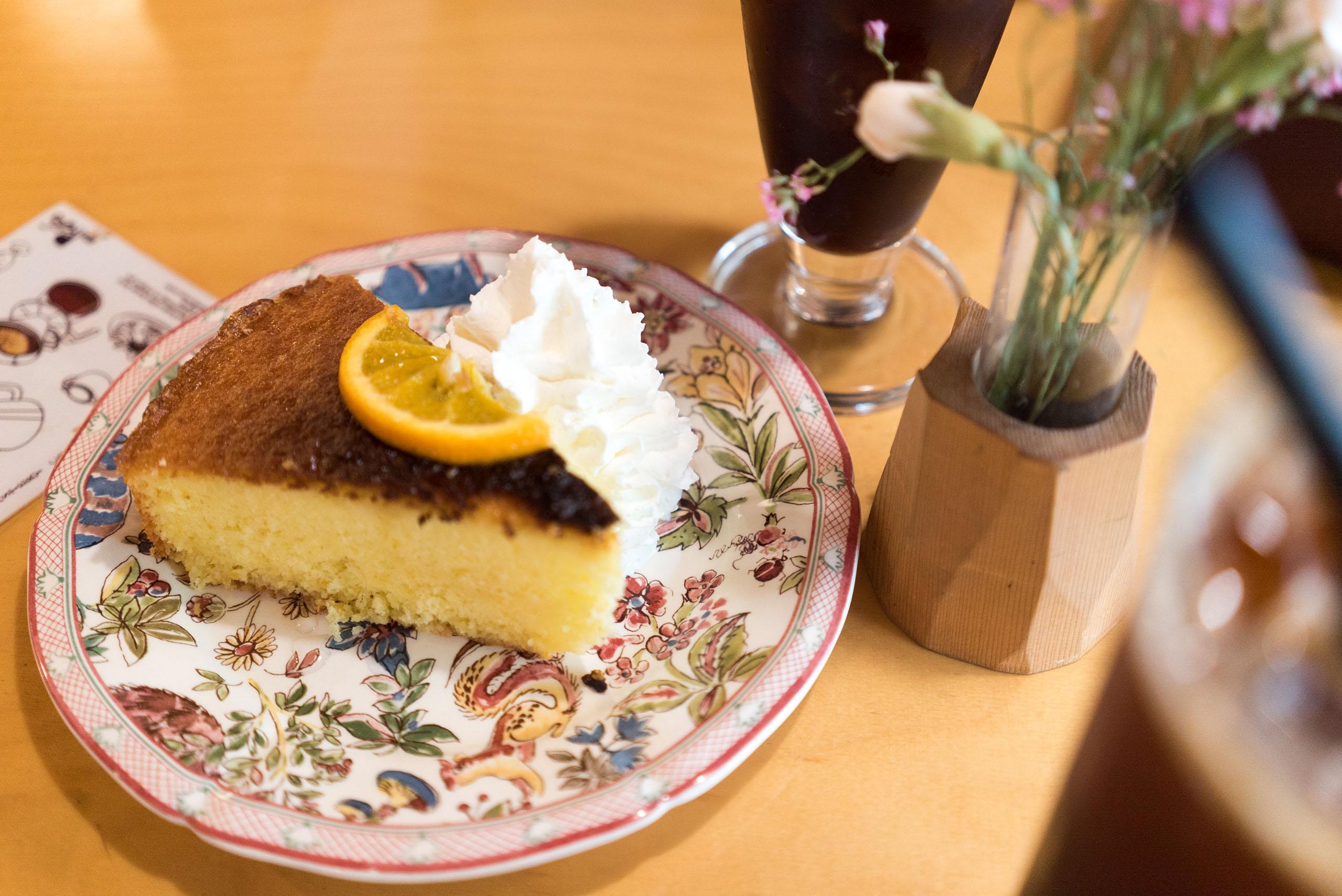 오렌지 케이크