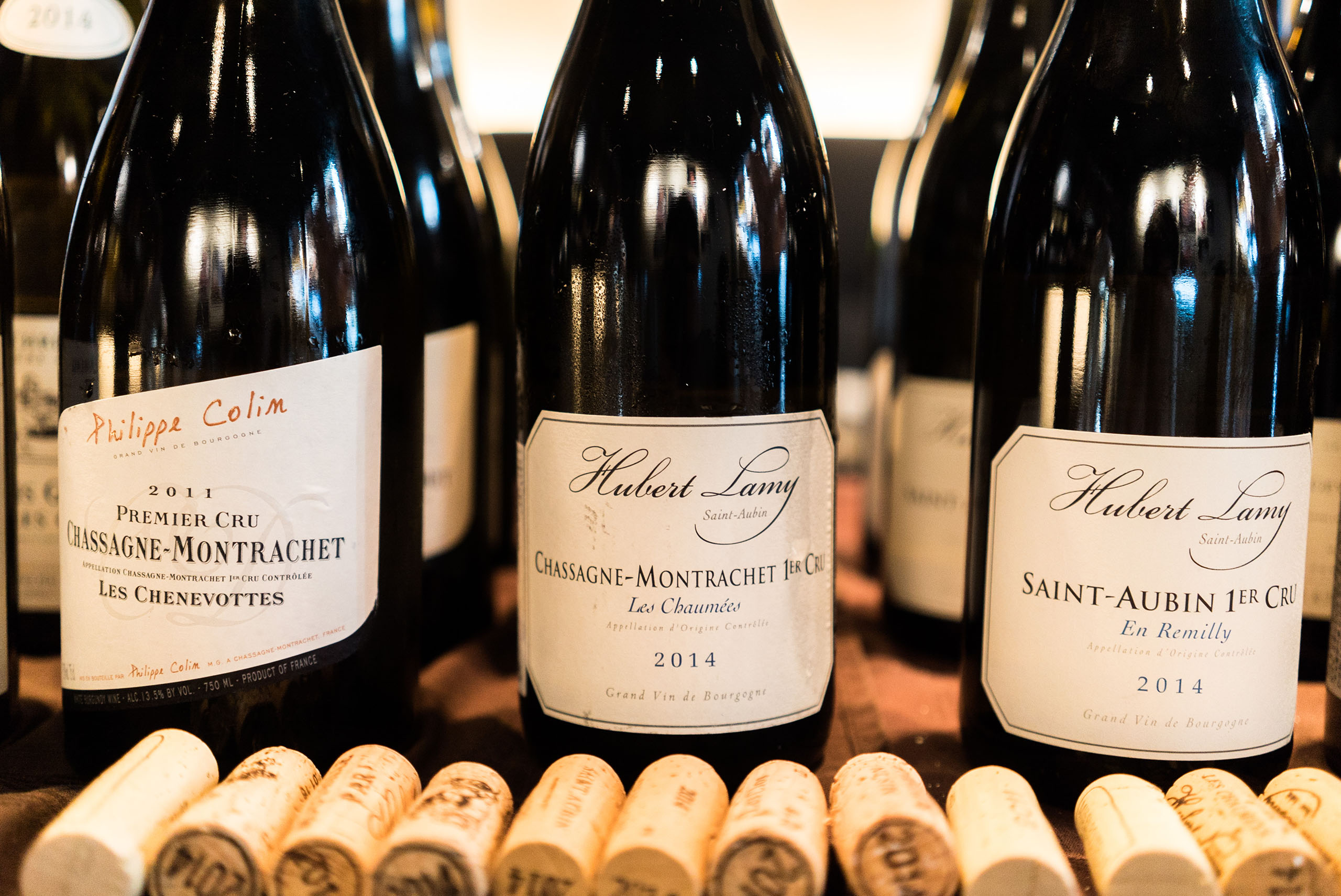 Hubert Lamy Chassagne-Montrachet 1er Les Chaumees 2014