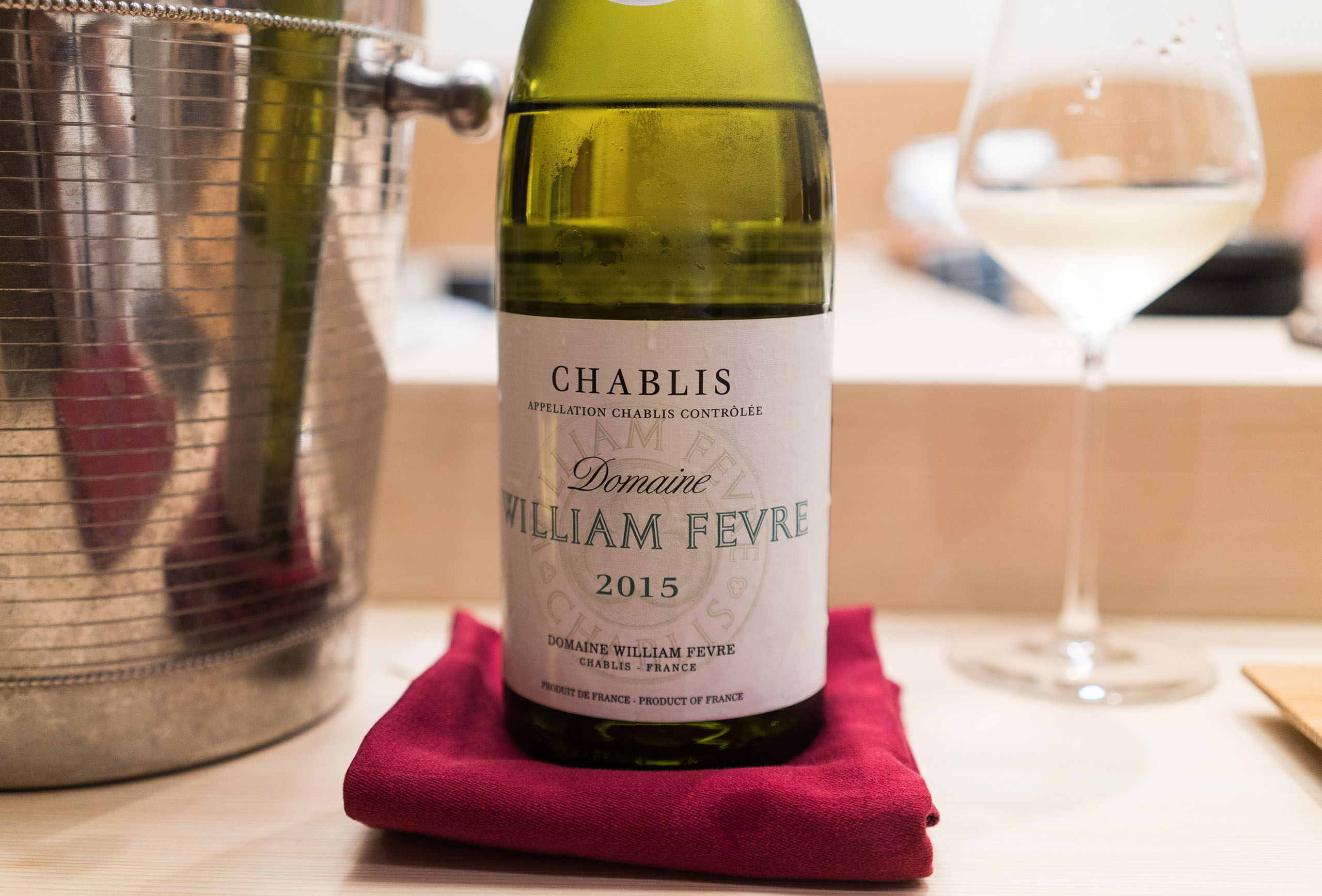 William Fevre Chablis 2015