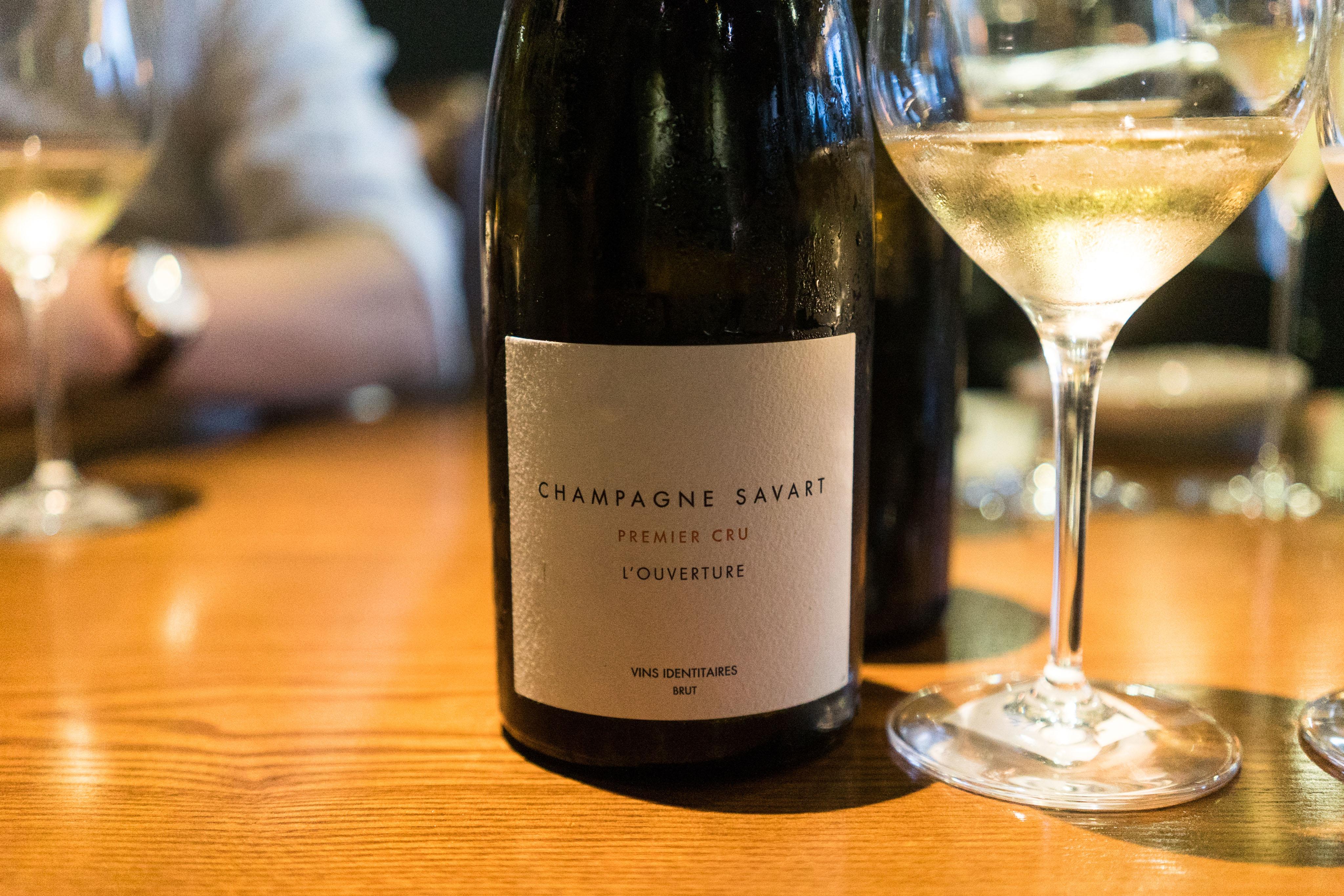 Champagne Savart L'ouverture