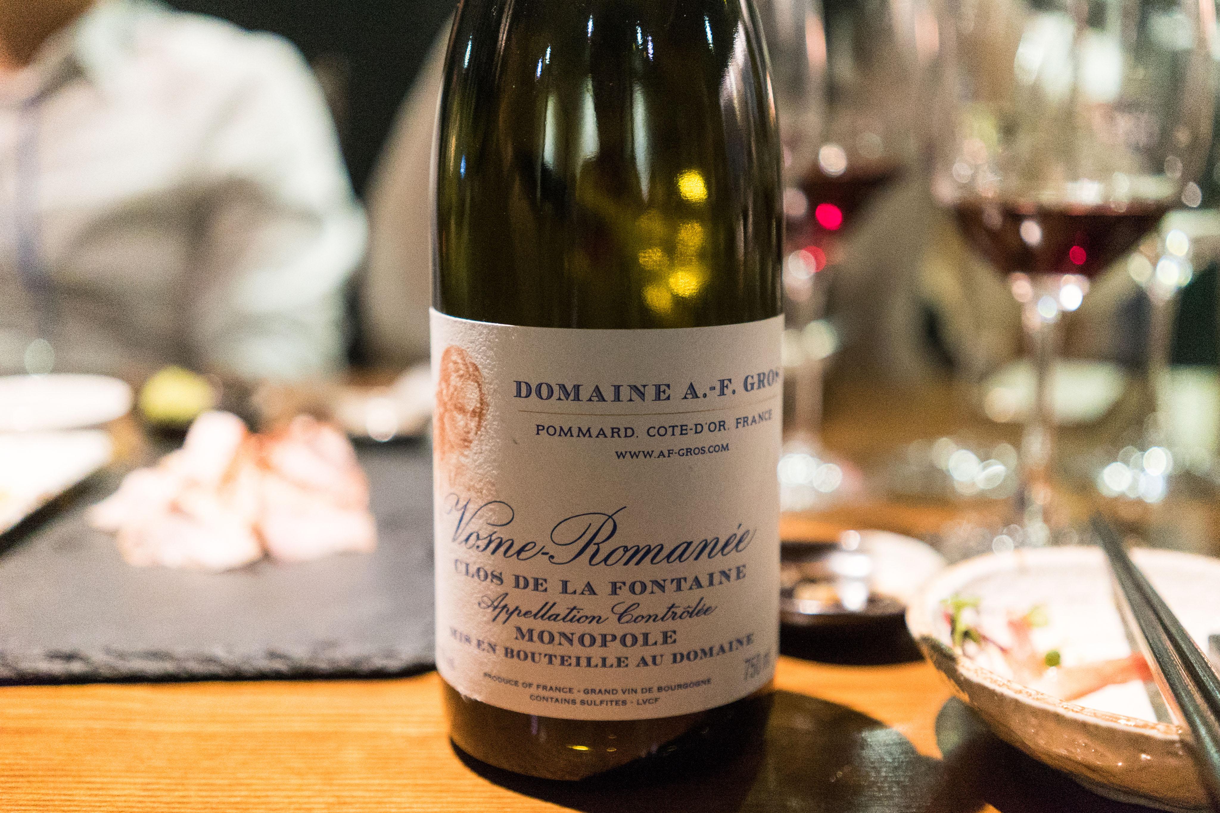 Domaine A.F.Gros Vosne Romanee Clos De La Fontaine 2014