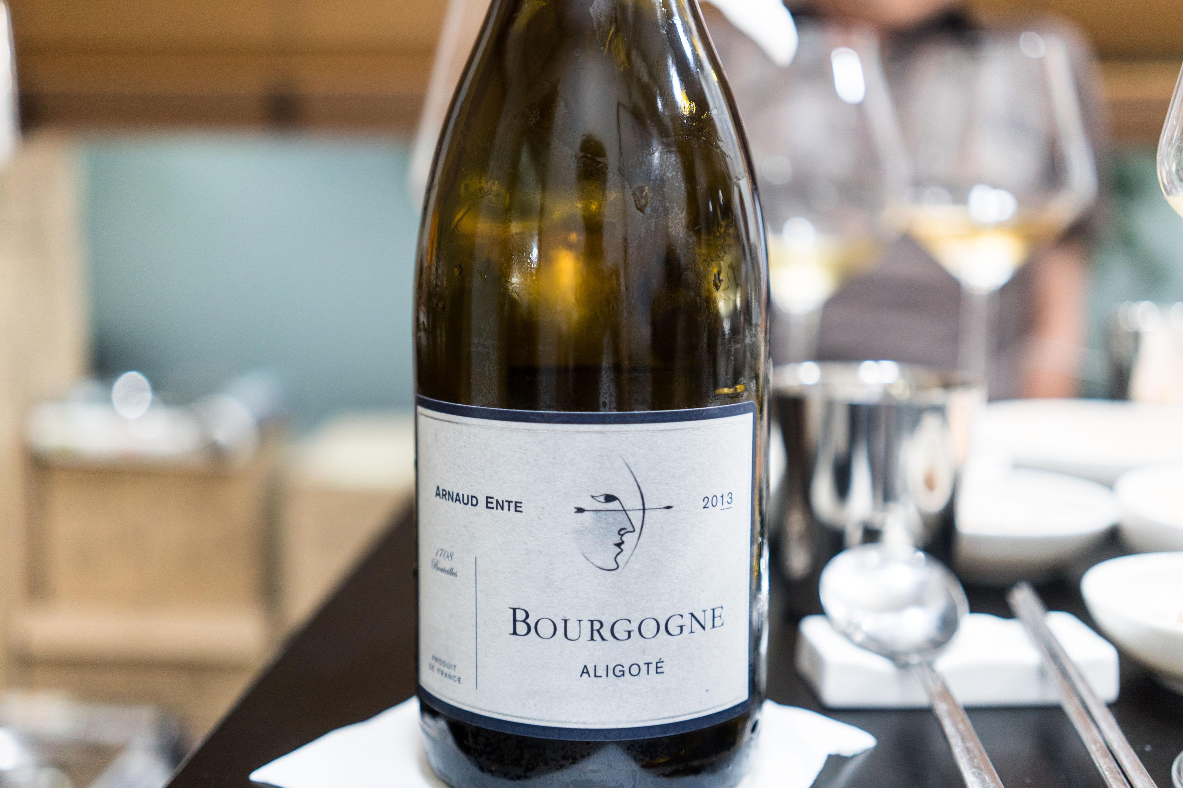 Domaine Arnaud Ente Bourgogne Aligote 2013