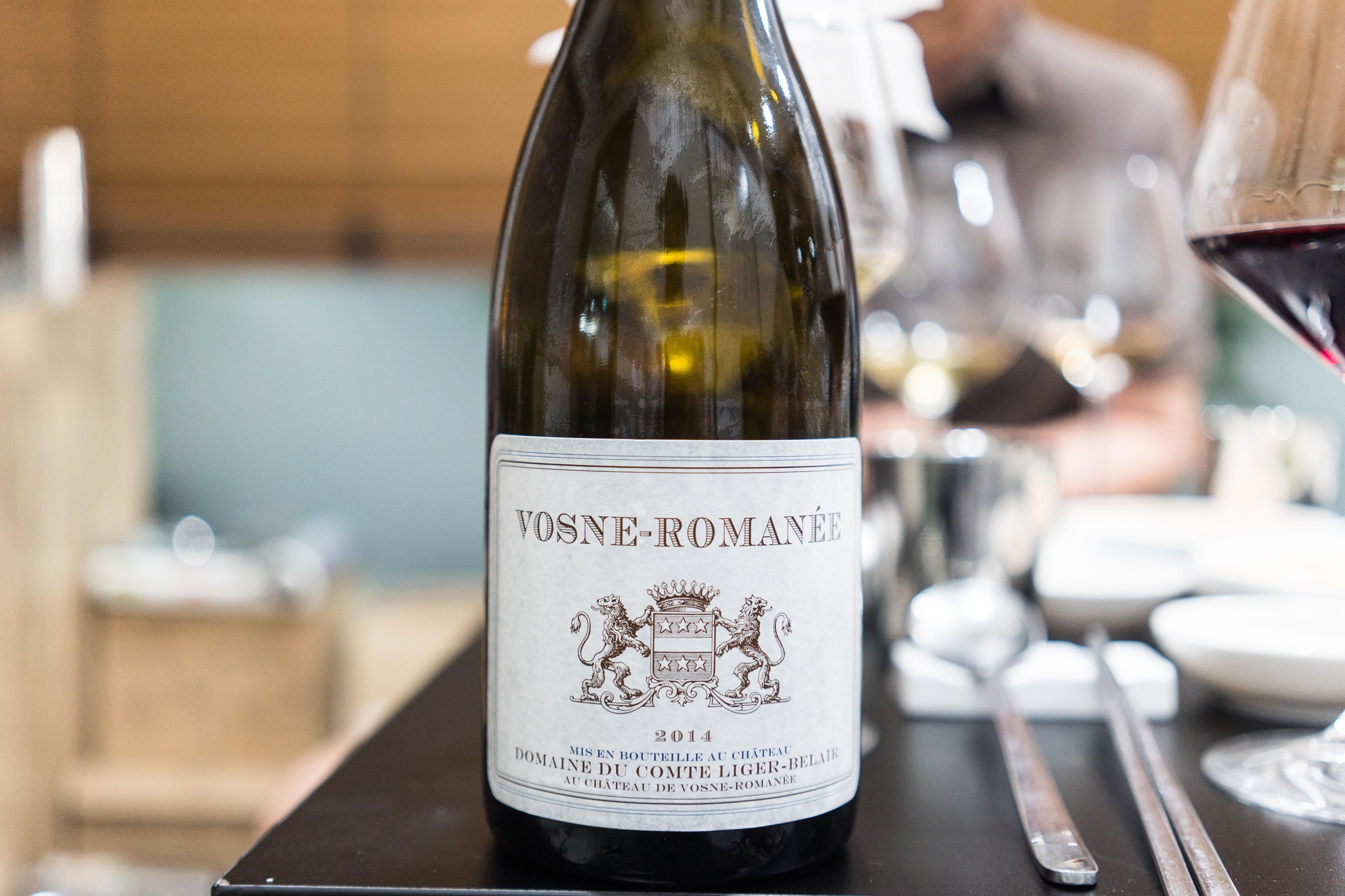 Domaine du Comte Liger-Belair Vosne Romanee 2014