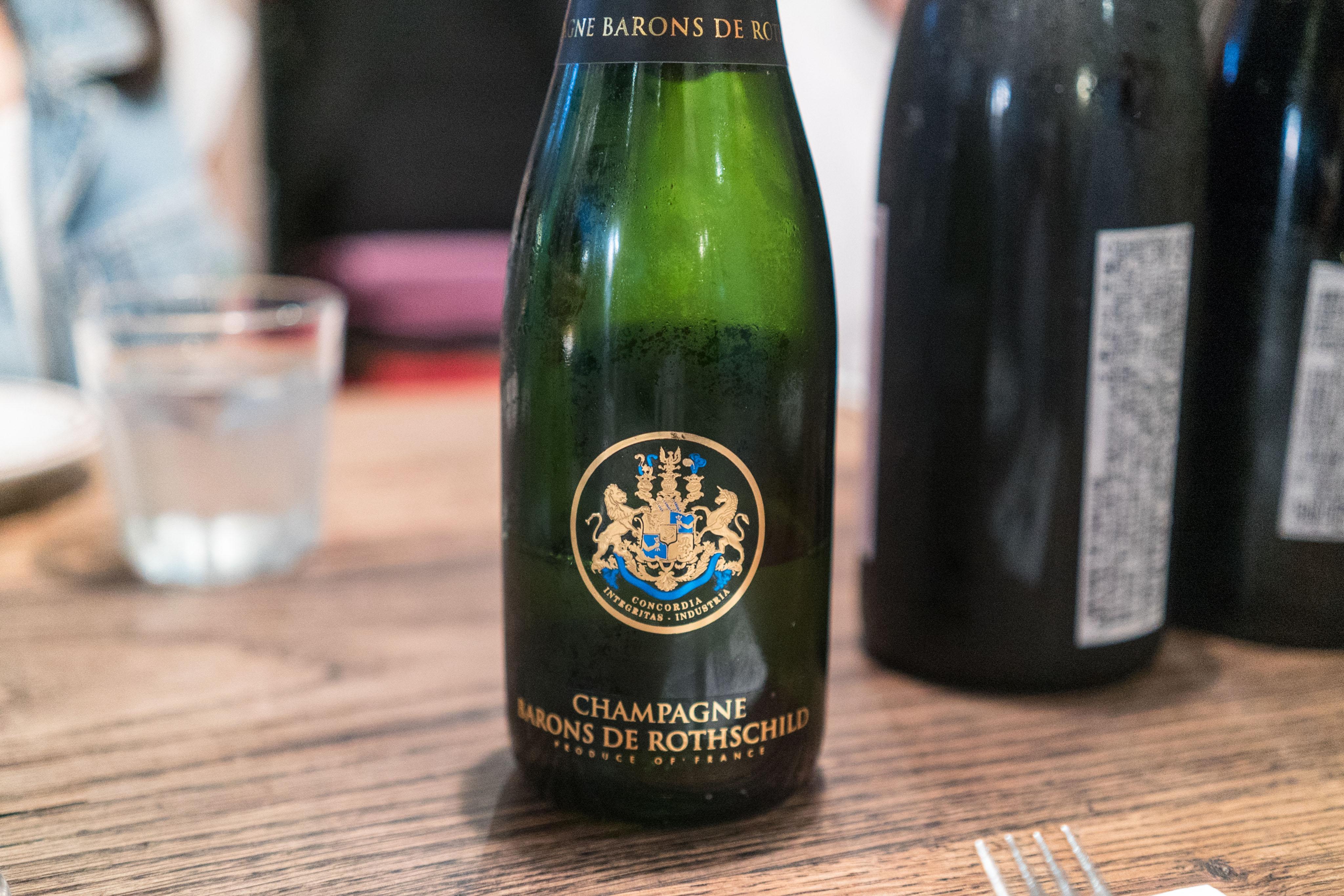 Barons de Rothschild Champagne Brut, NV H/B