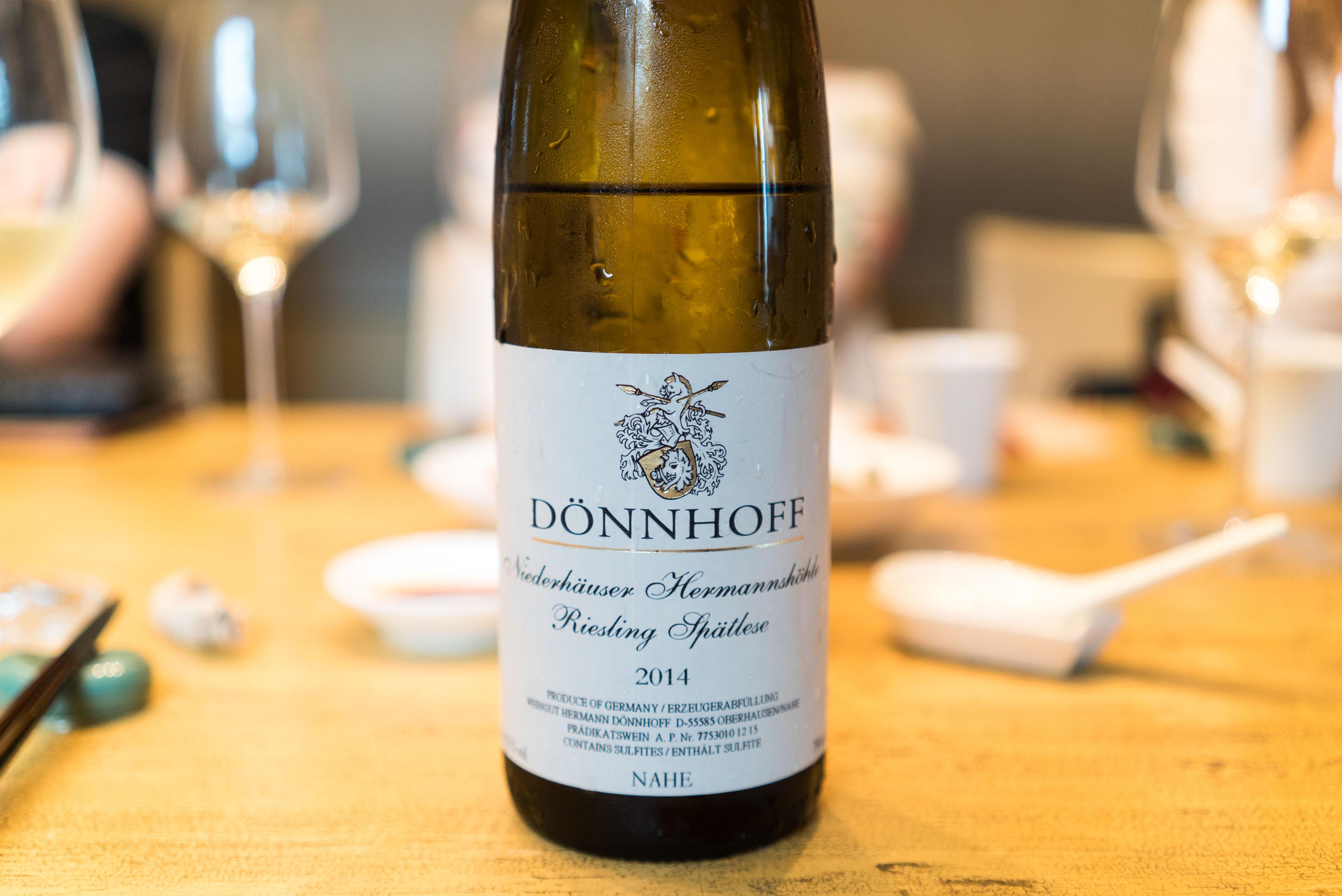 Donnhoff Norhemer Kirschheck 1er Riesling Spatlese 2014