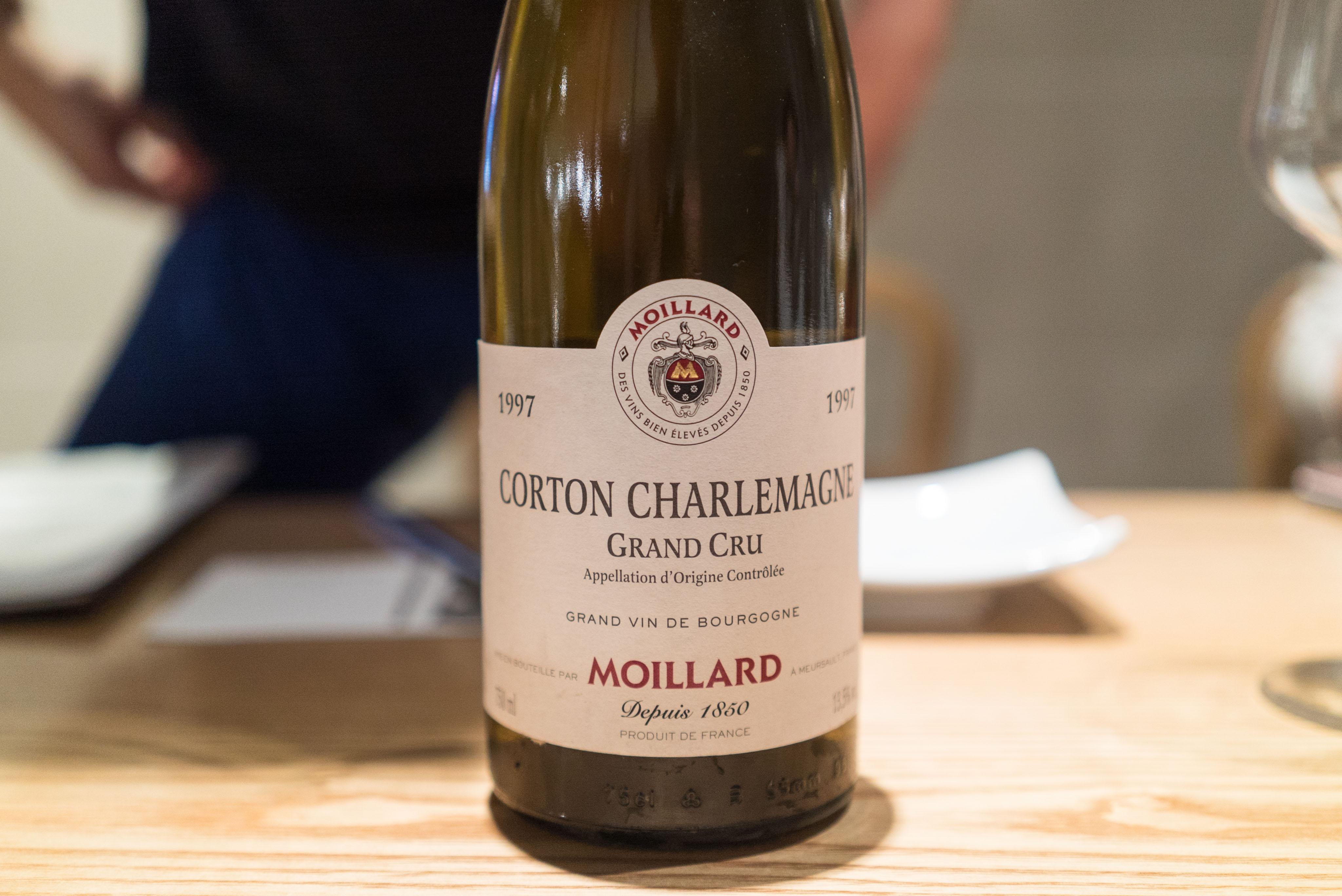 Moillard Corton Charlemagne Grand Cru 1997