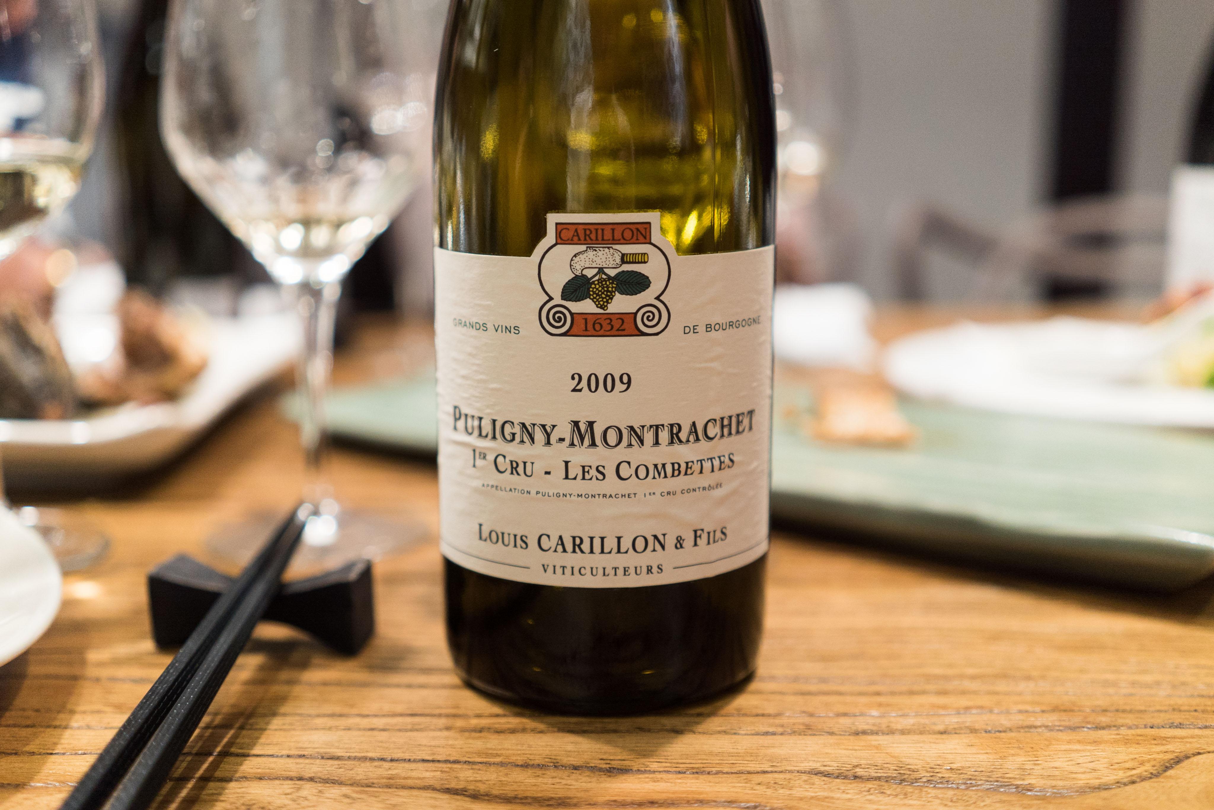 Domaine Louis Carillon et Fils Les Combettes Puligny-Montrachet Premier Cru 2009