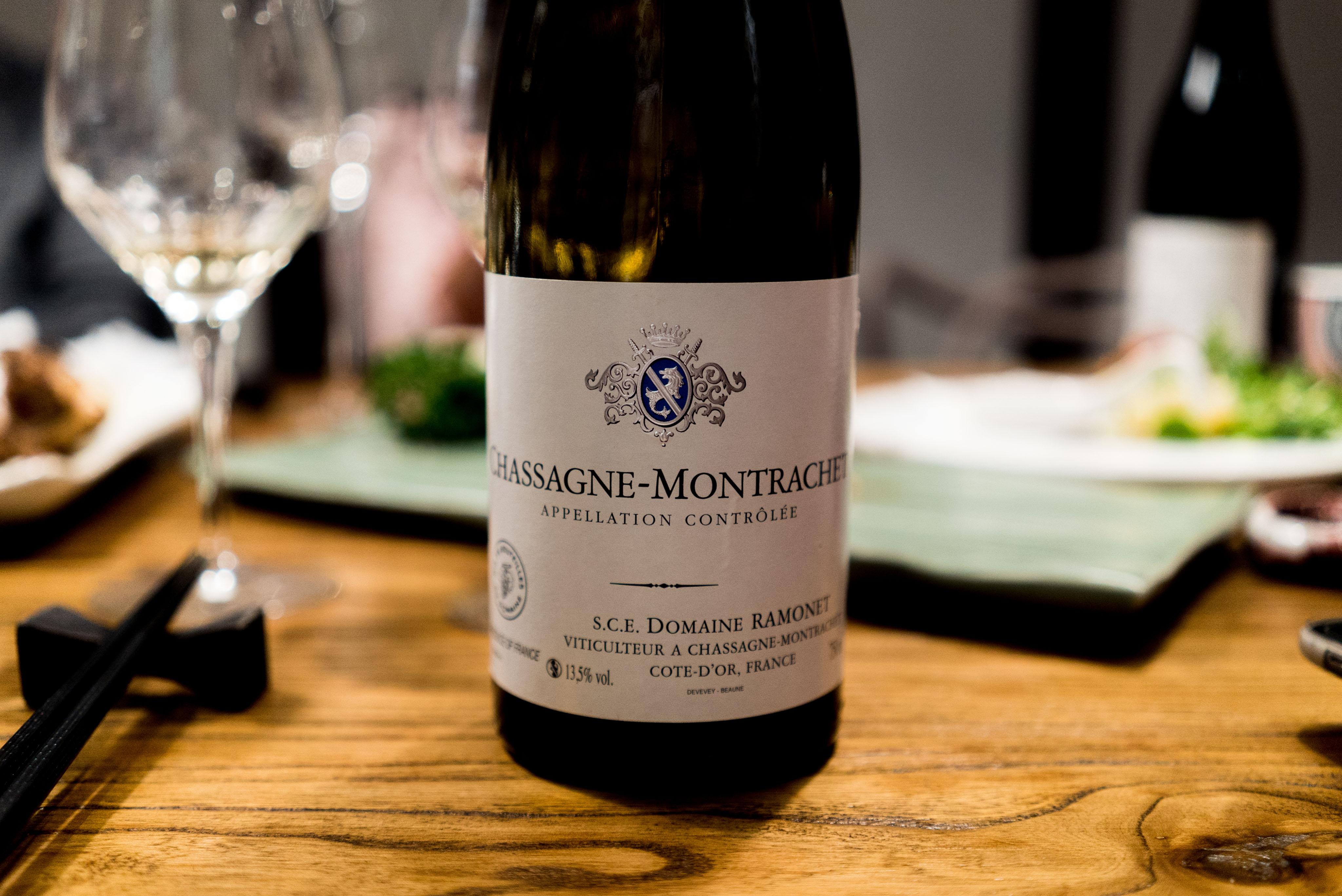 Domaine Ramonet Chassagne-Montrachet Cote de Beaune 2012