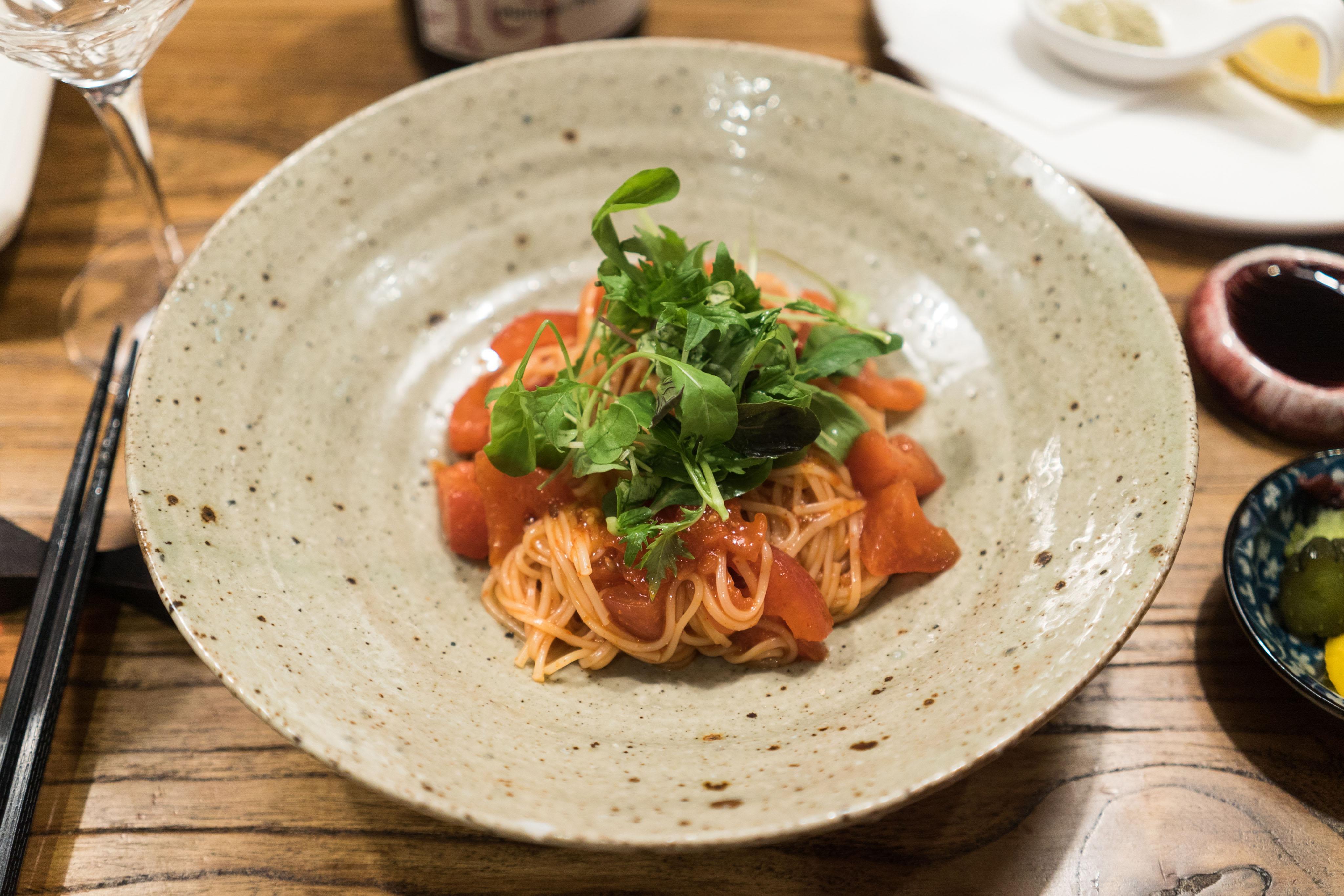 토마토 비빔 소바