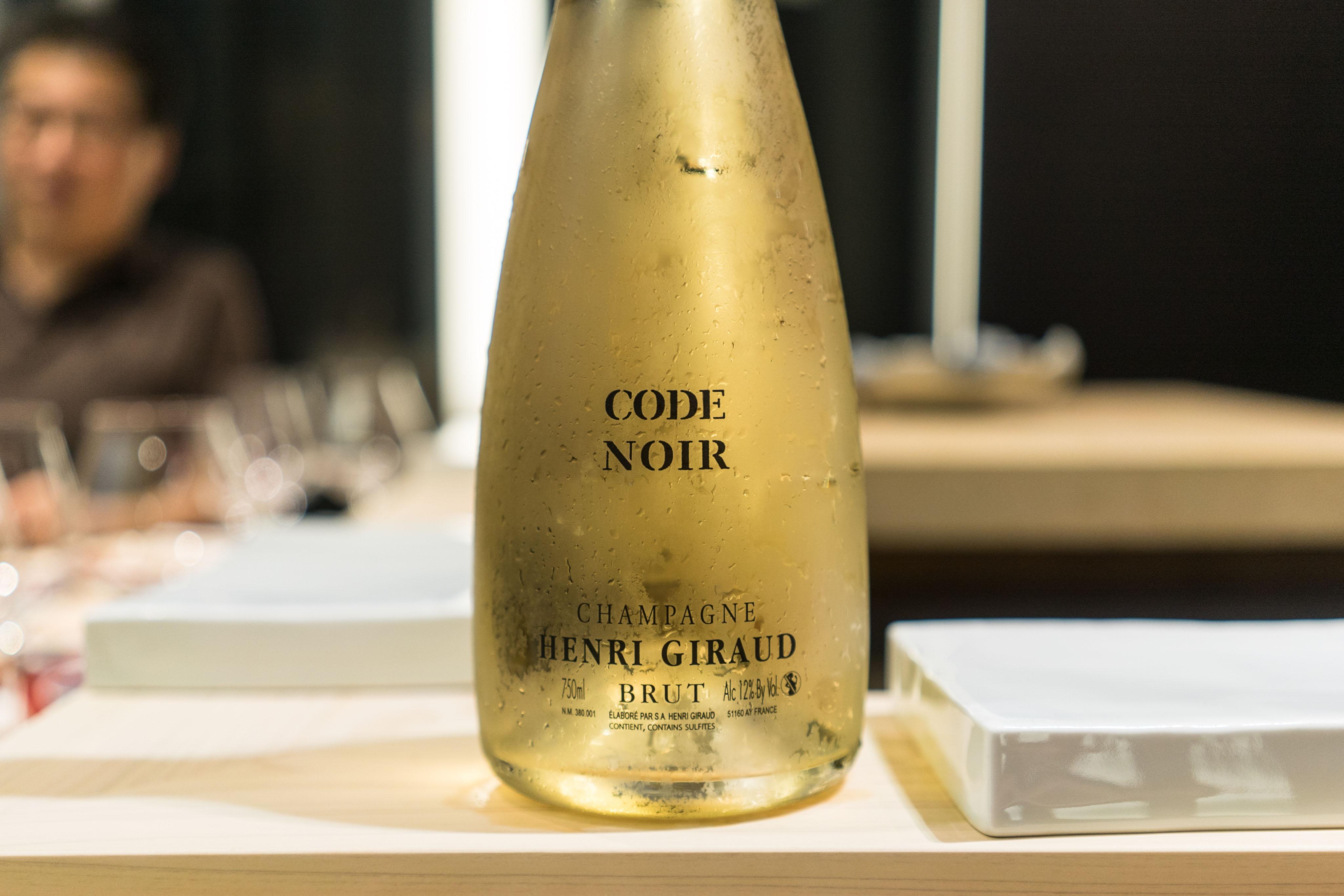 Henri Giraud Code Noir Brut NV