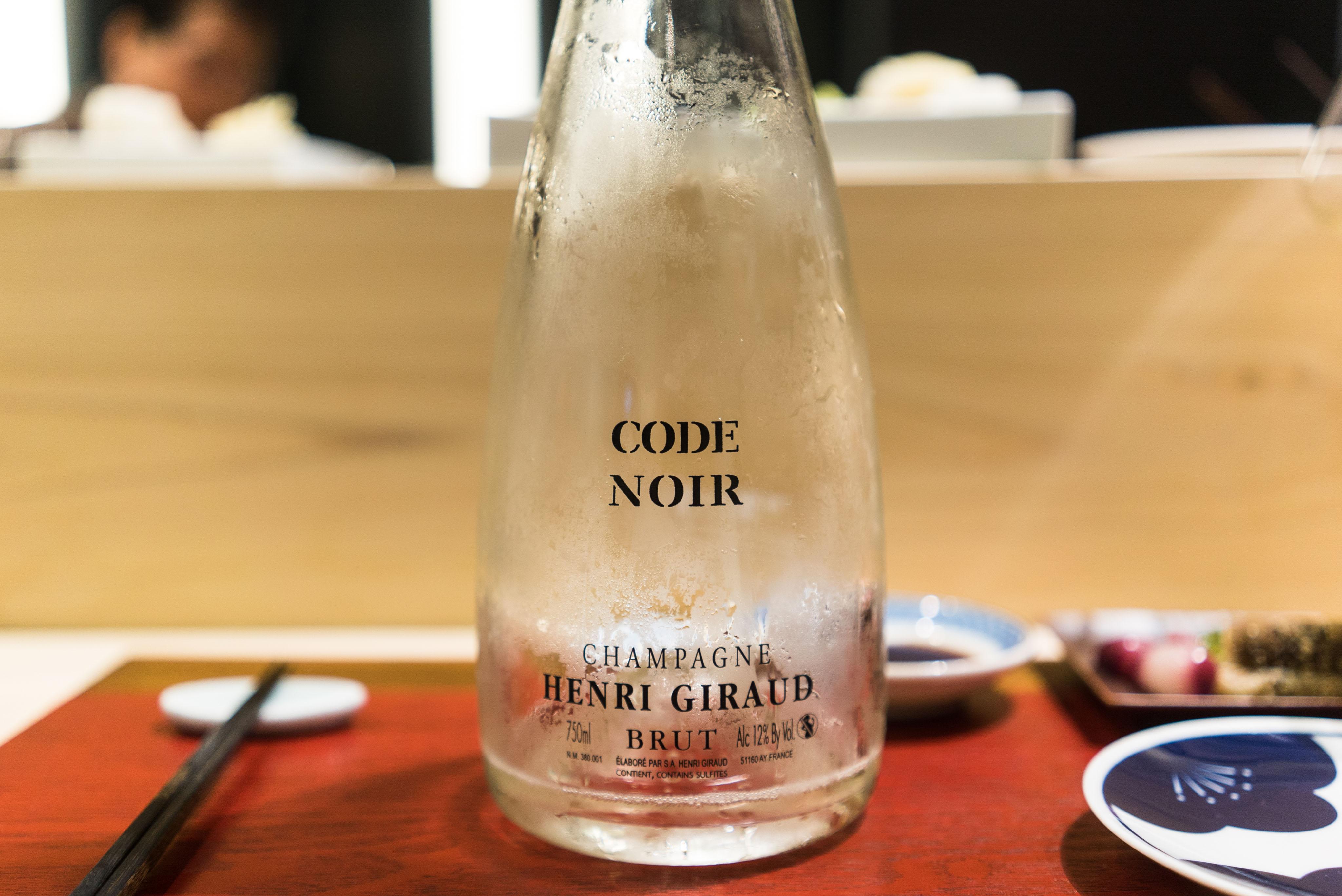 Brut Code Noir Henri Giraud NV