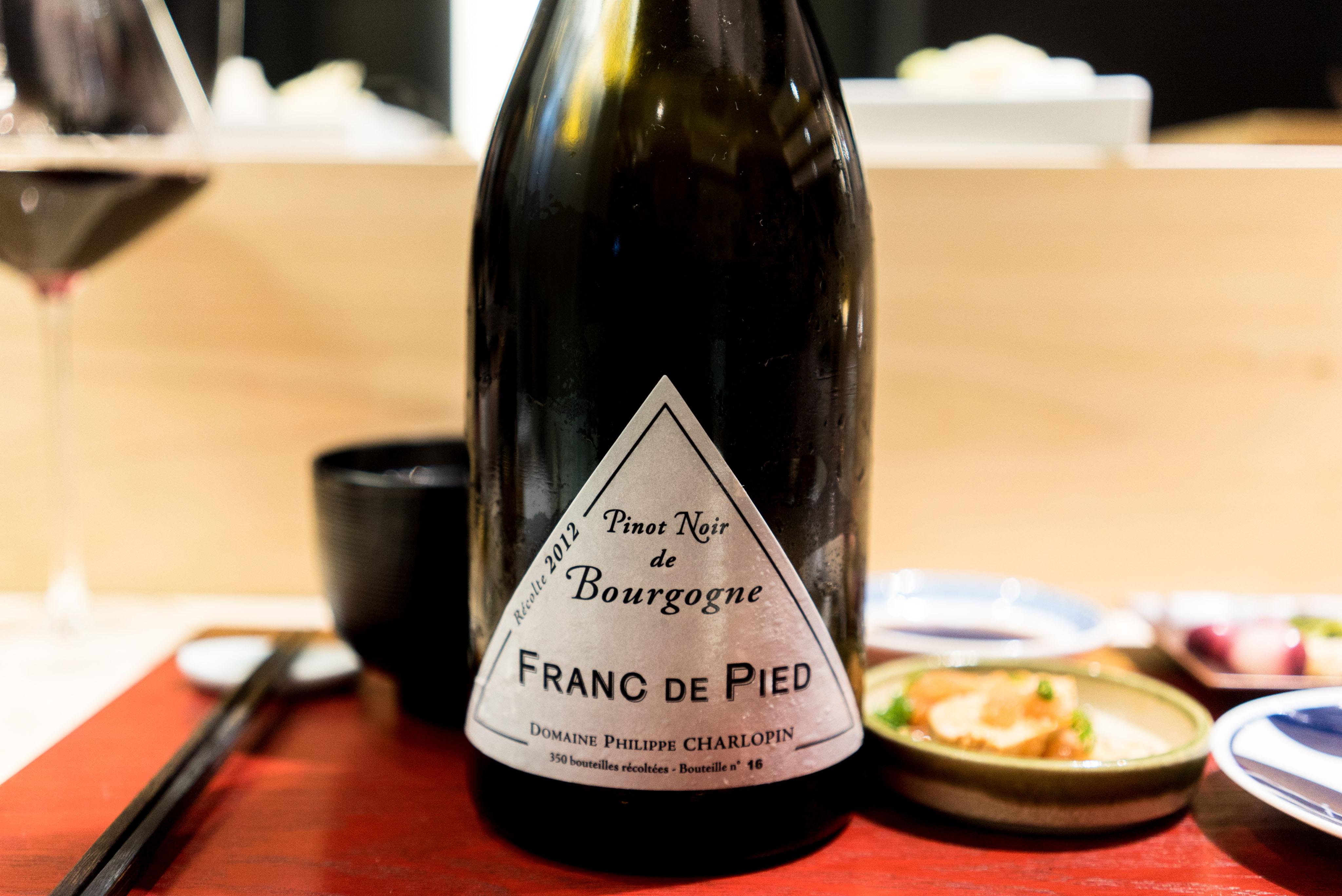 Bourgogne Franc de Pied Philippe Charlopin-Parizot 2012