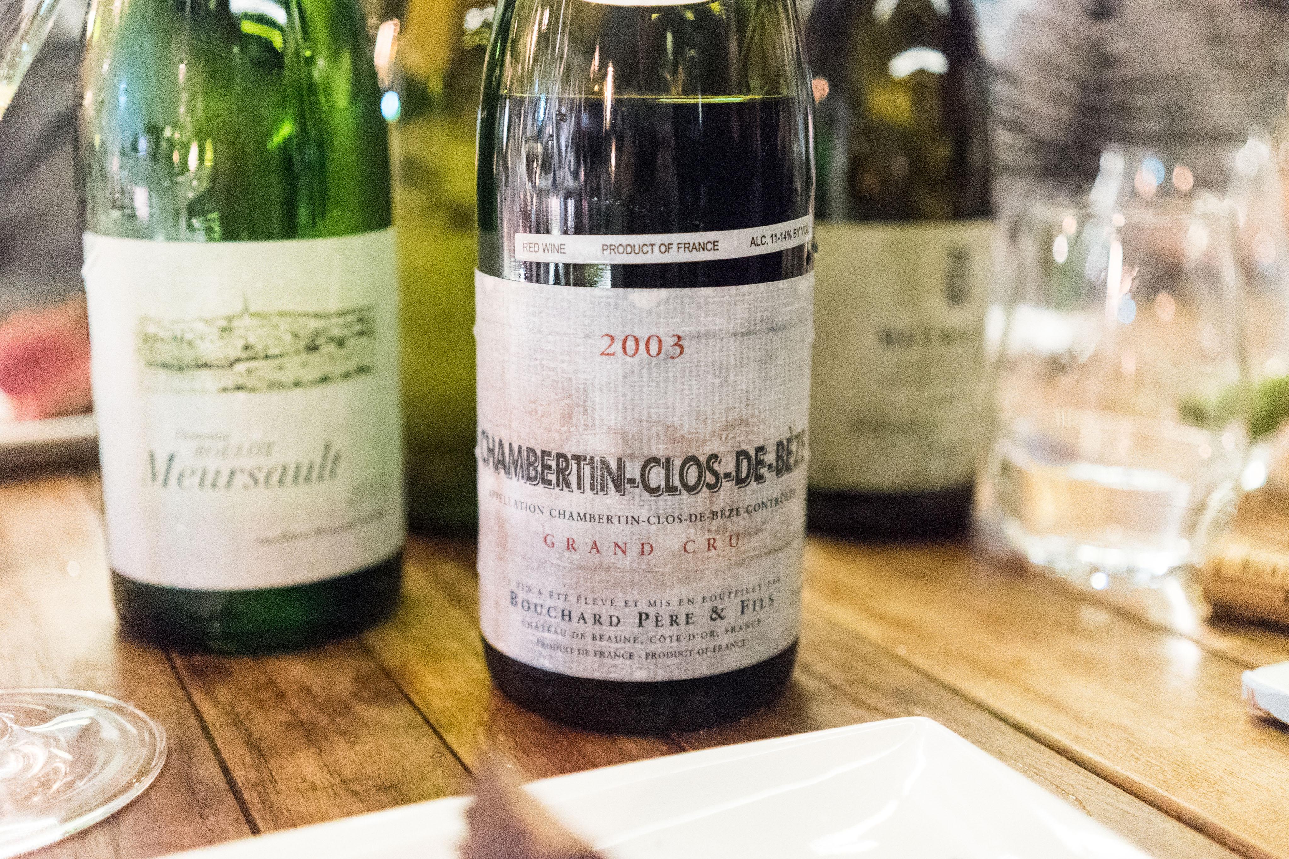 Bouchard Pere & Fils Chambertin-Clos-de-Beze Grand Cru 2003