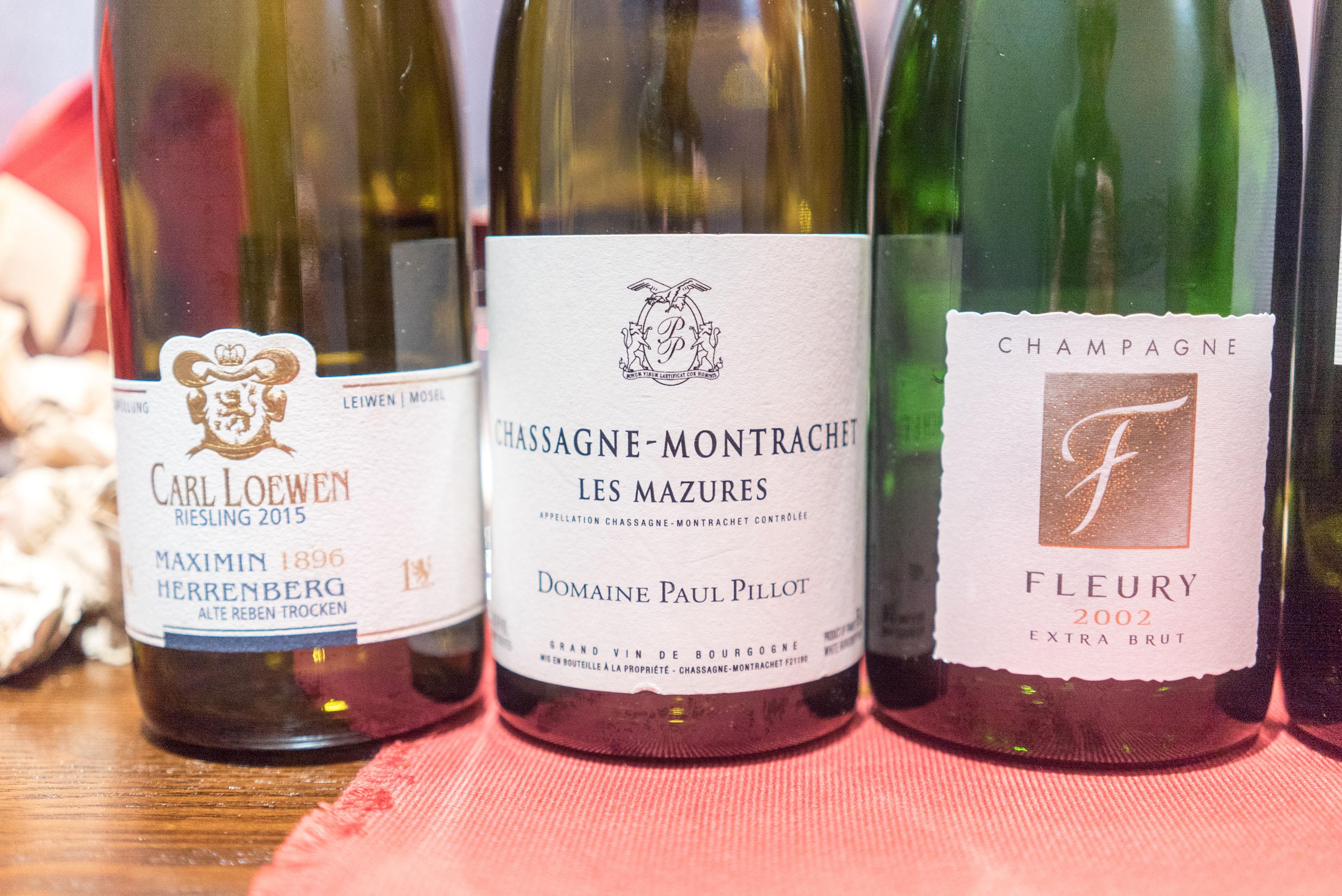 Domaine Paul Pillot Chassagne Montrachet Les Mazures 2014