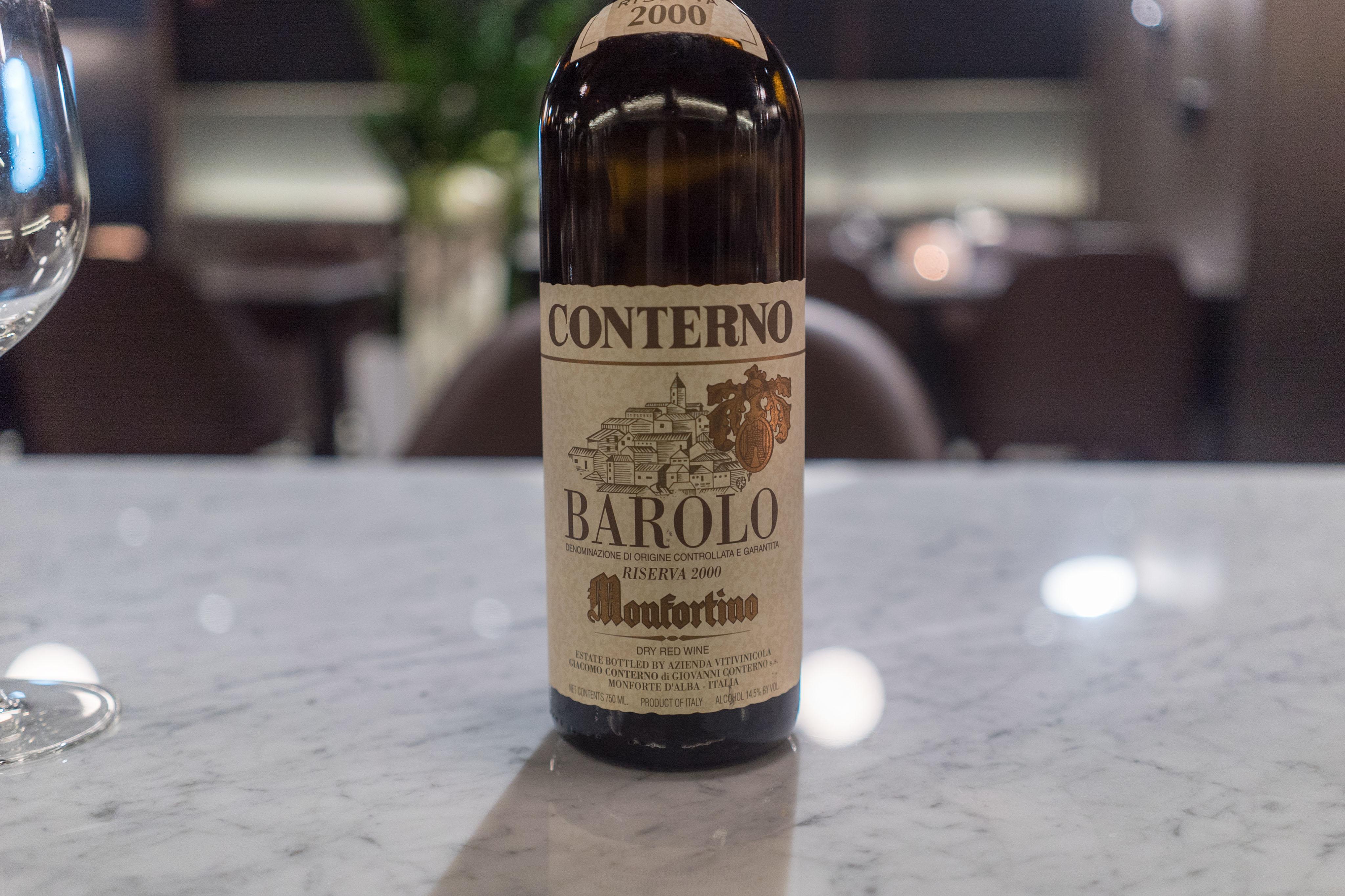 Giacomo Conterno Barolo Monfortino Riserva 2000