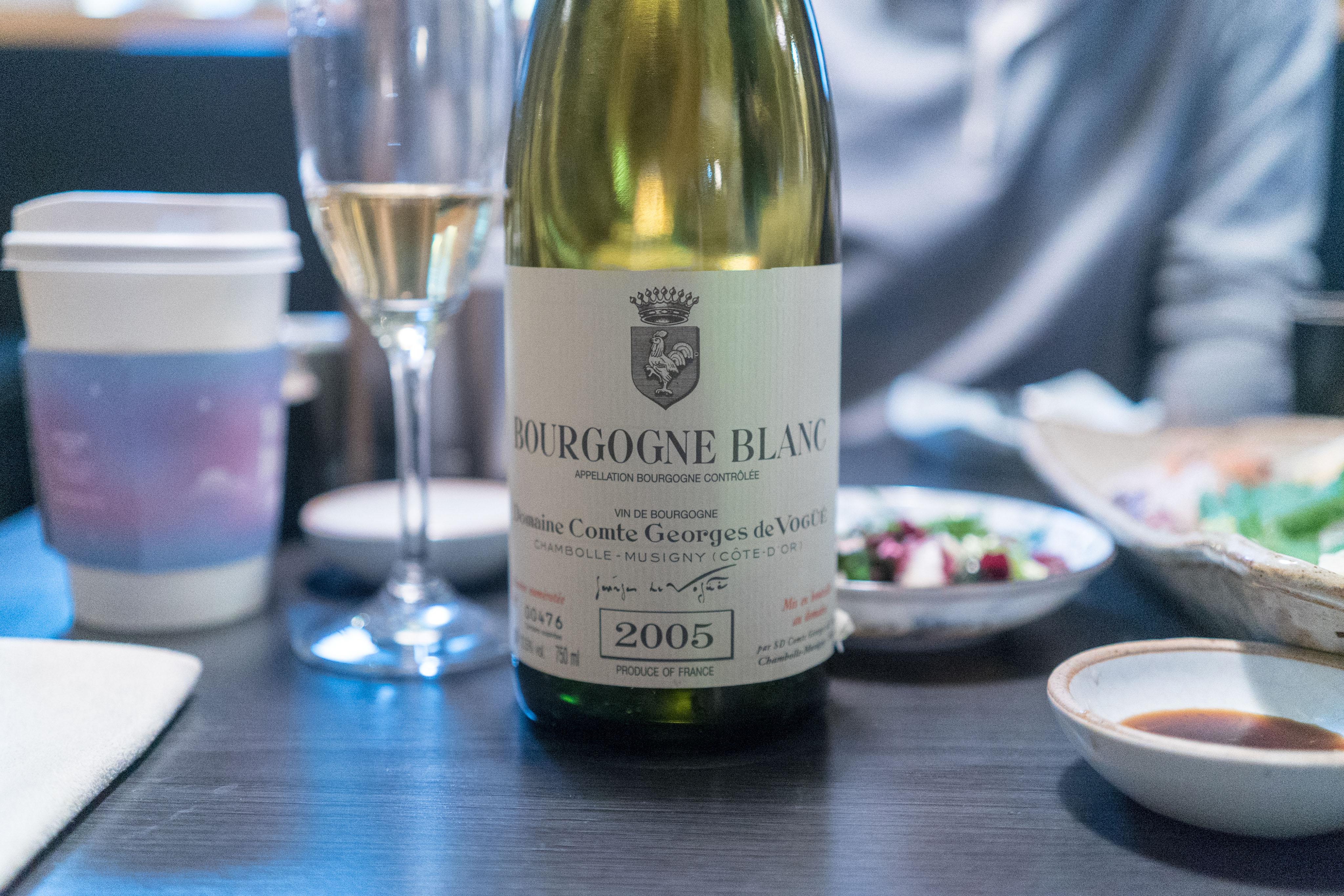Domaine Comte Georges de Vogue Bourgogne Blanc 2005