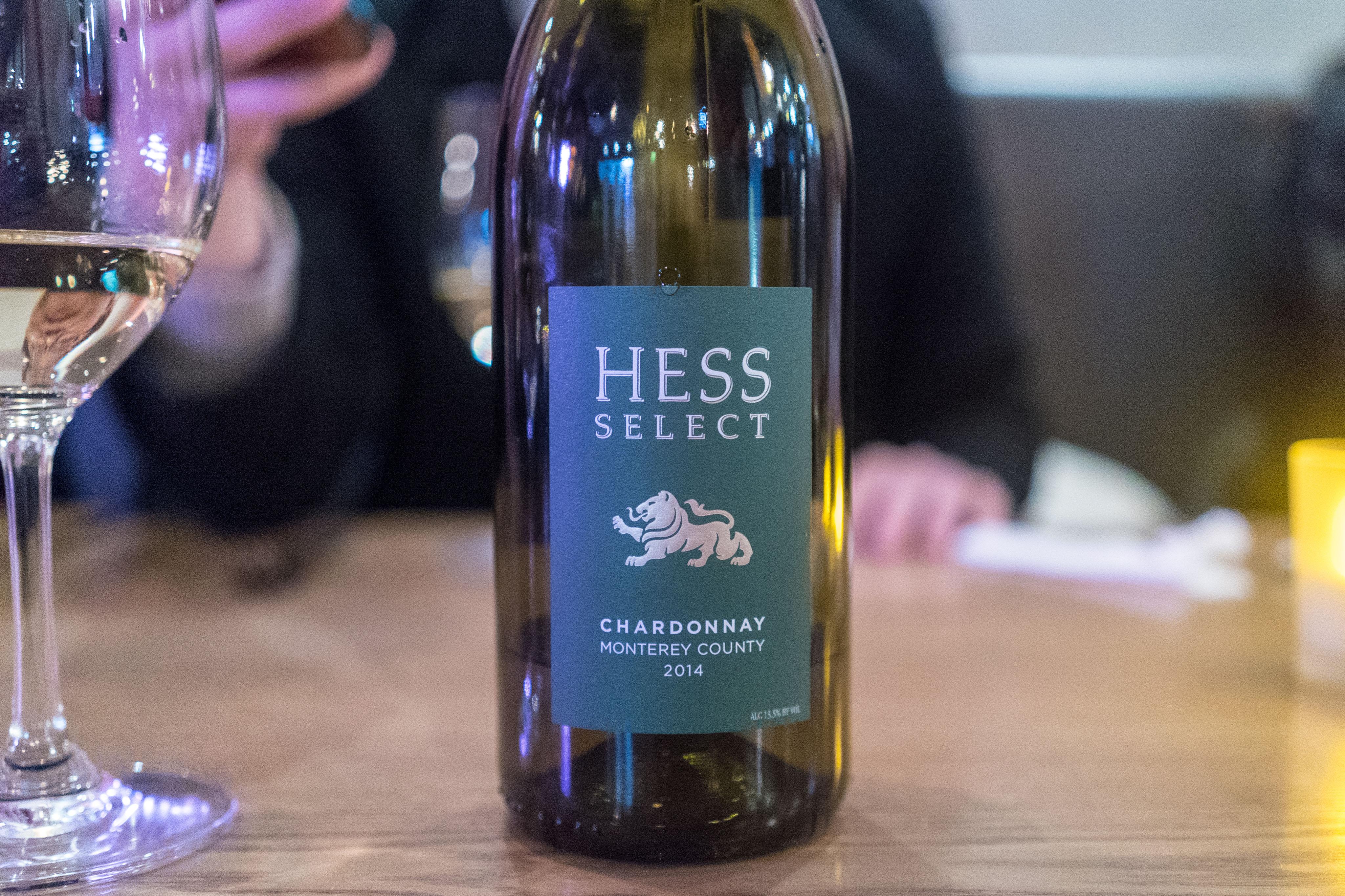 Hess Select Chardonnay 2014
