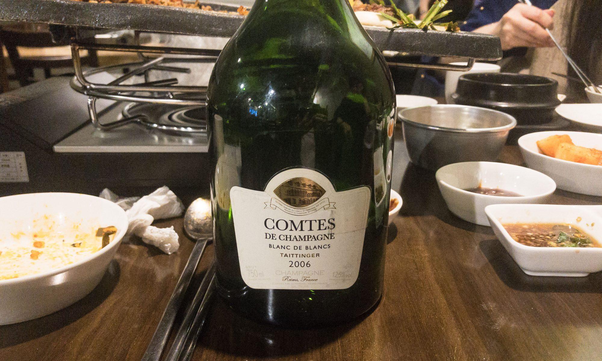 Taittinger Comtes de Champagne Blanc de Blancs Brut 2006